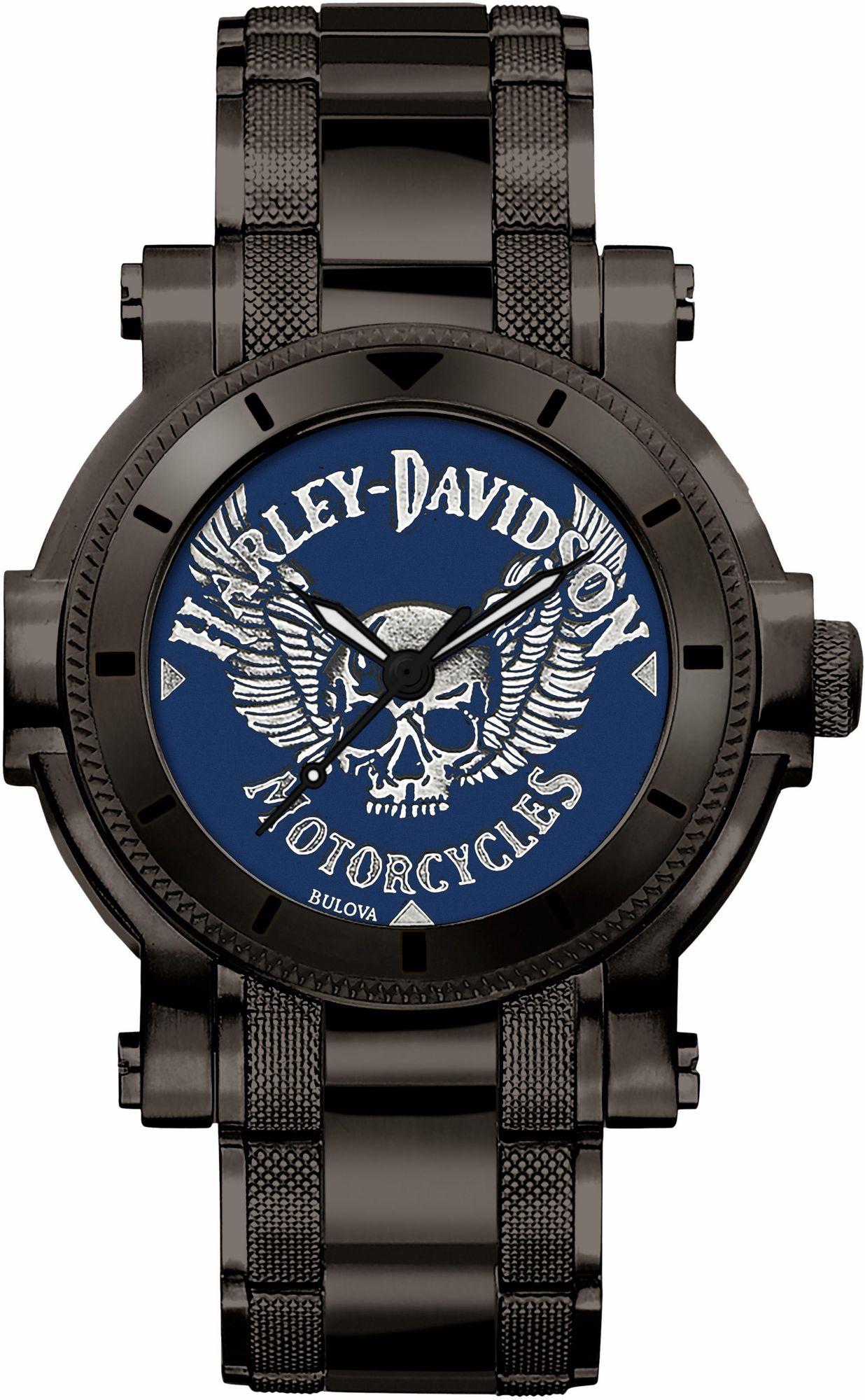 HARLEY DAVIDSON Harley Davidson Quarzuhr »Medallion Dial, 78A117«