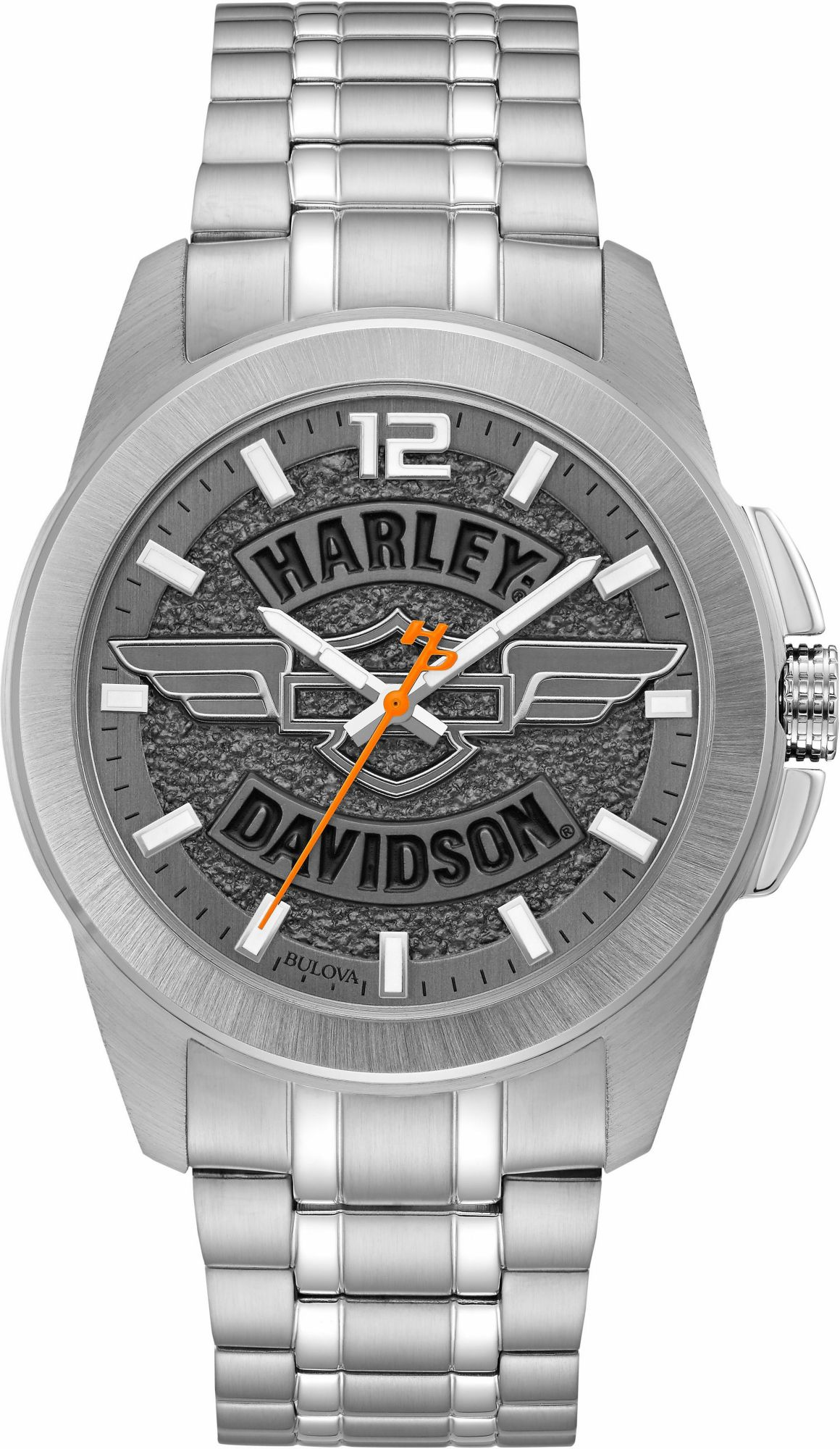 HARLEY DAVIDSON Harley Davidson Quarzuhr »Harley Davidson, 76A157«