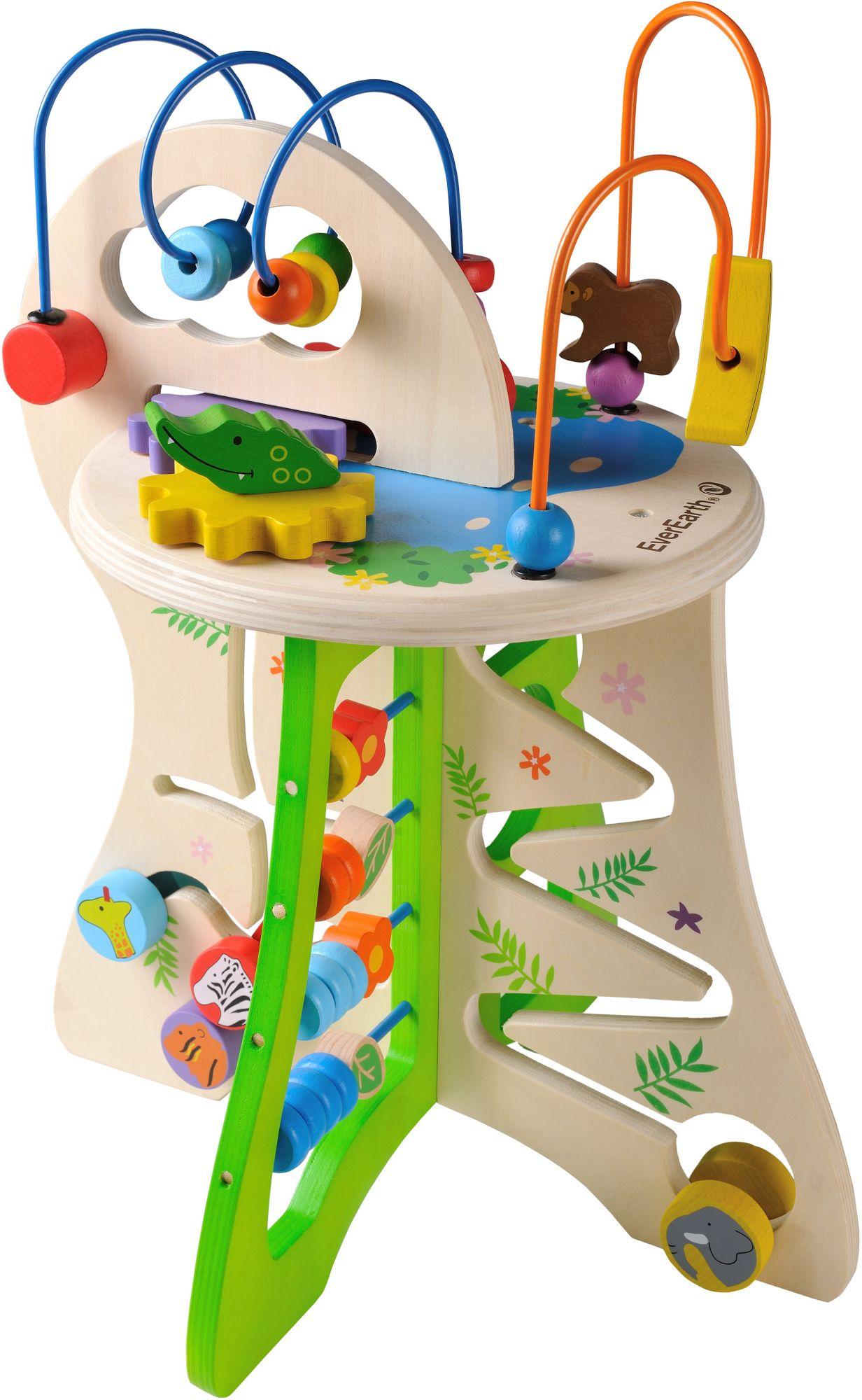 EVEREARTH EverEarth® Holzspielzeug, »Safari Aktivitätscenter«
