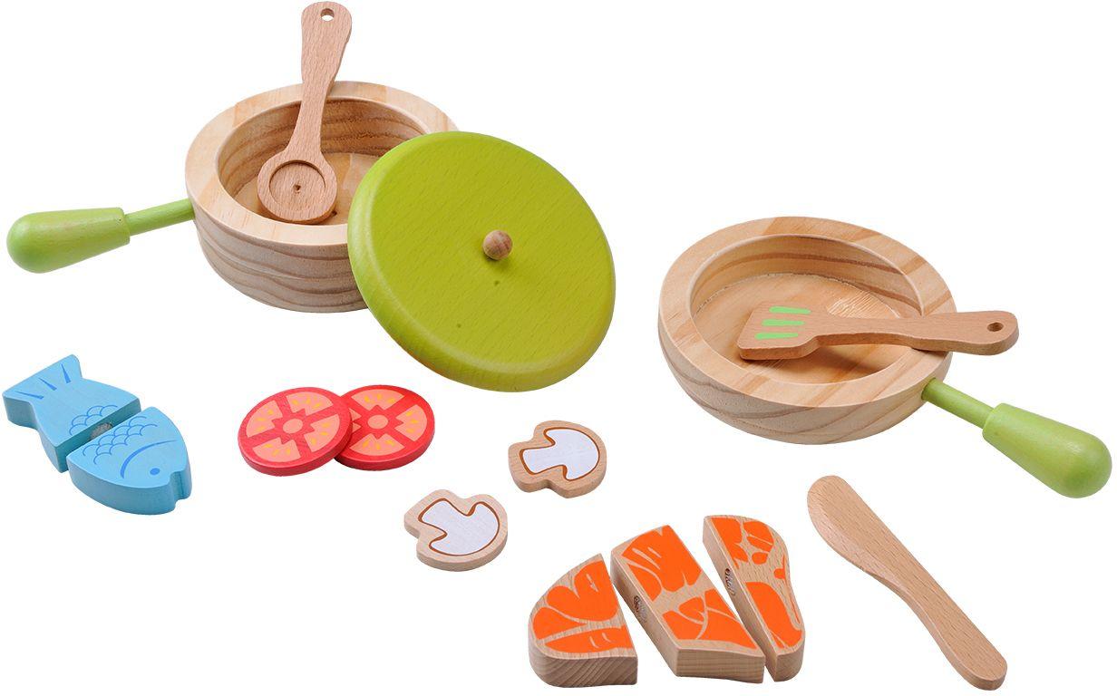 EVEREARTH EverEarth® Holzspielzeug, »Topf und Pfannenset«