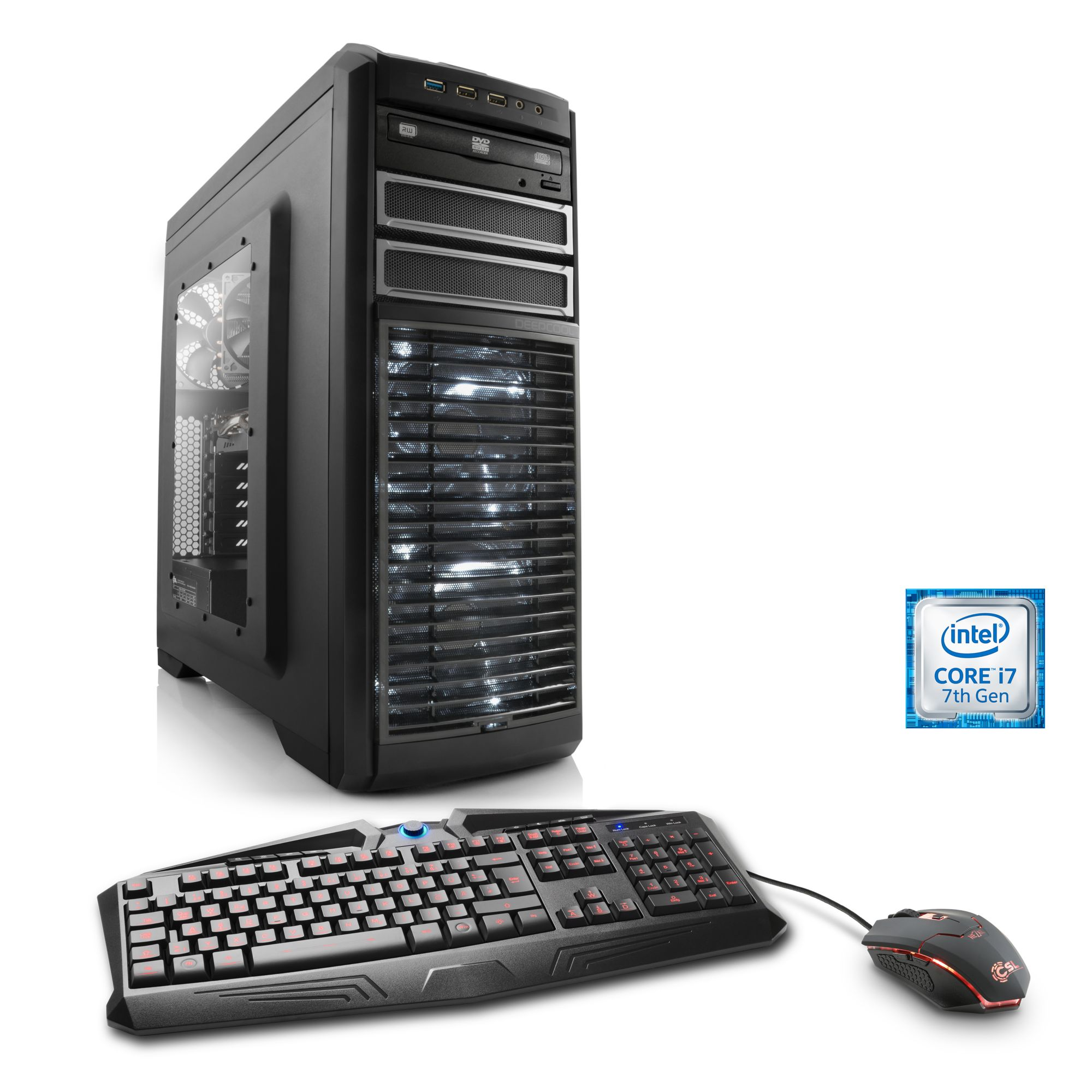 CSL  Extreme Gaming PC | i7-7700K | GTX 1080 | 16GB DDR4 | 240GB SSD »Victoriatus T7095 Windows 10«