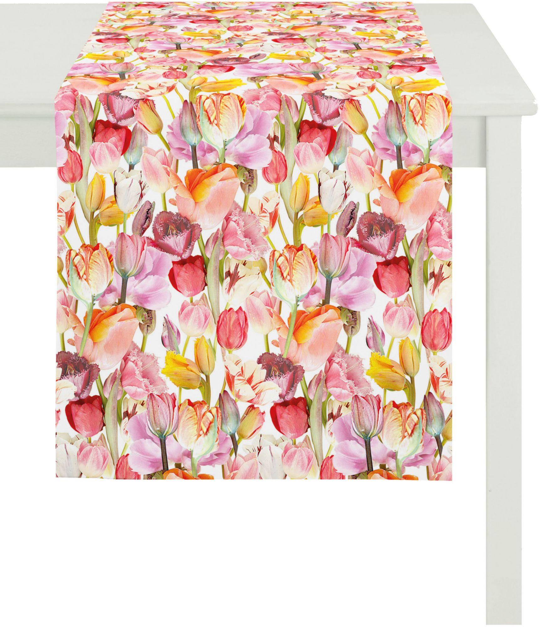 APELT Apelt Tischläufer, 48x140 cm, »2212 SPRINGTIME«