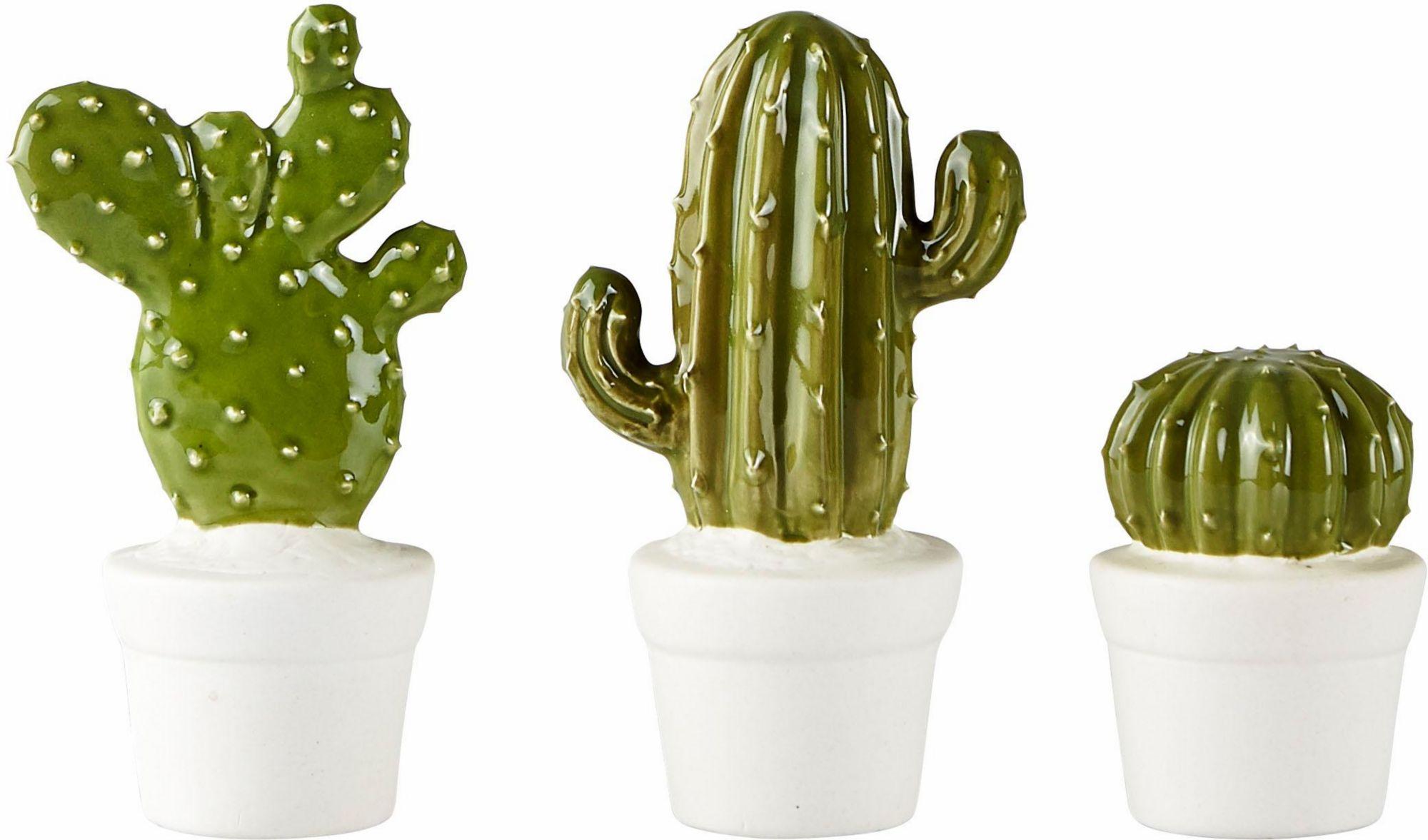 ANDAS andas Dekoobjekt »Kaktus« (3er Set)