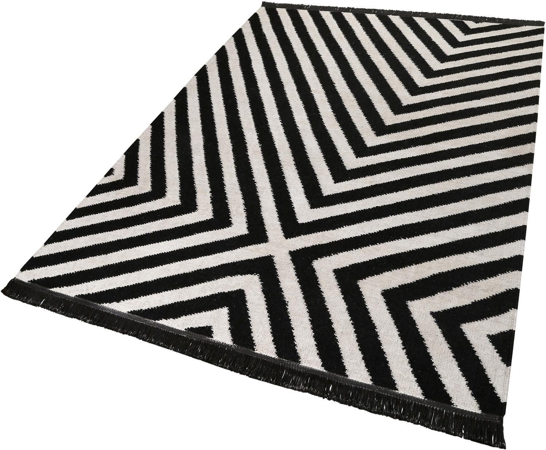 CARPETSCO Teppich, Carpets&Co, »Edgy Corners«, Höhe: 5 mm, handgewebt