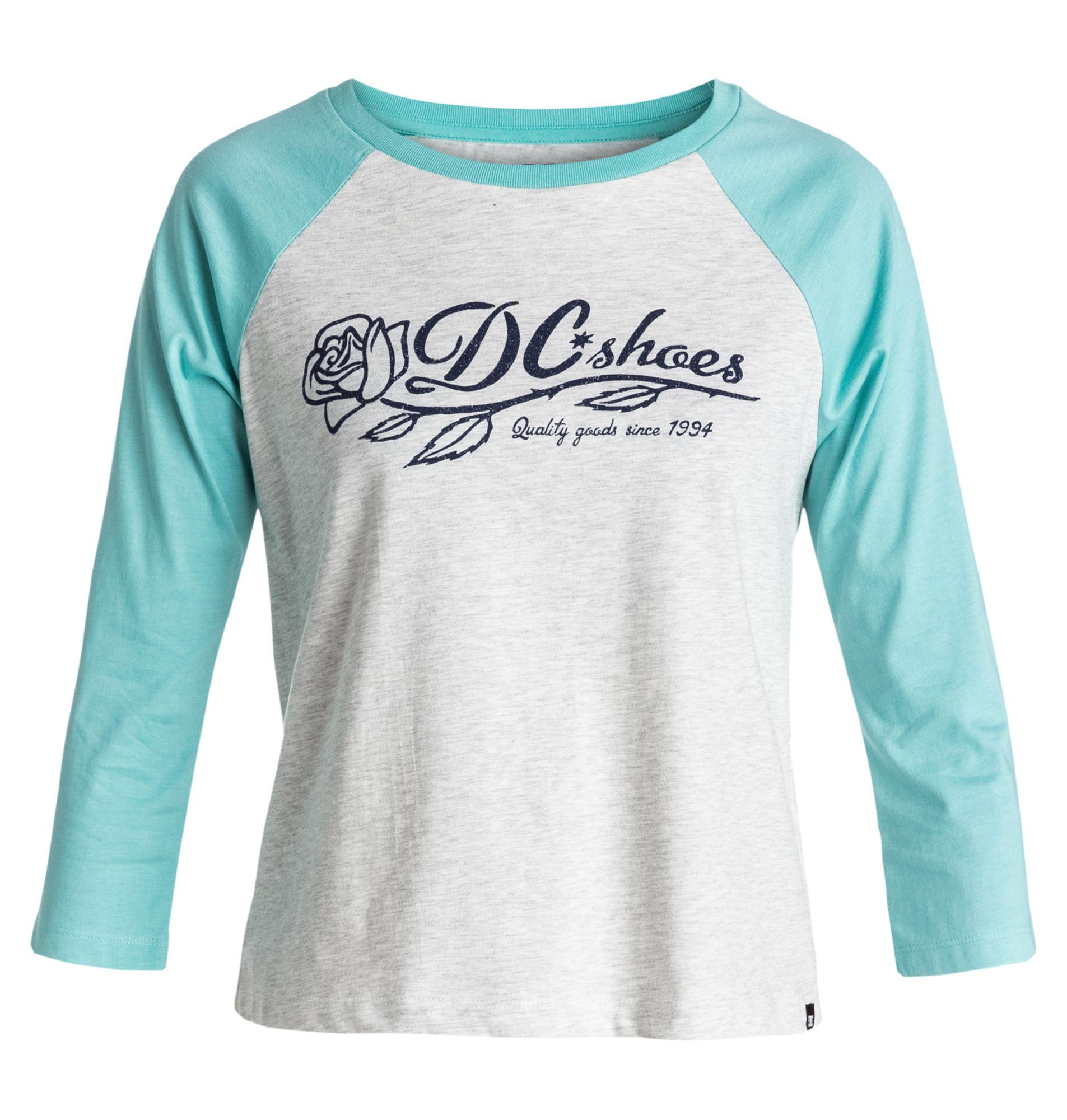 DC SHOES DC Shoes Crop-T-Shirt »T-Rose Raglan - Crop-T-Shirt«
