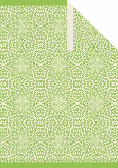 IBENA Wohndecke, Ibena, »Hamina«, im Mosaik Design