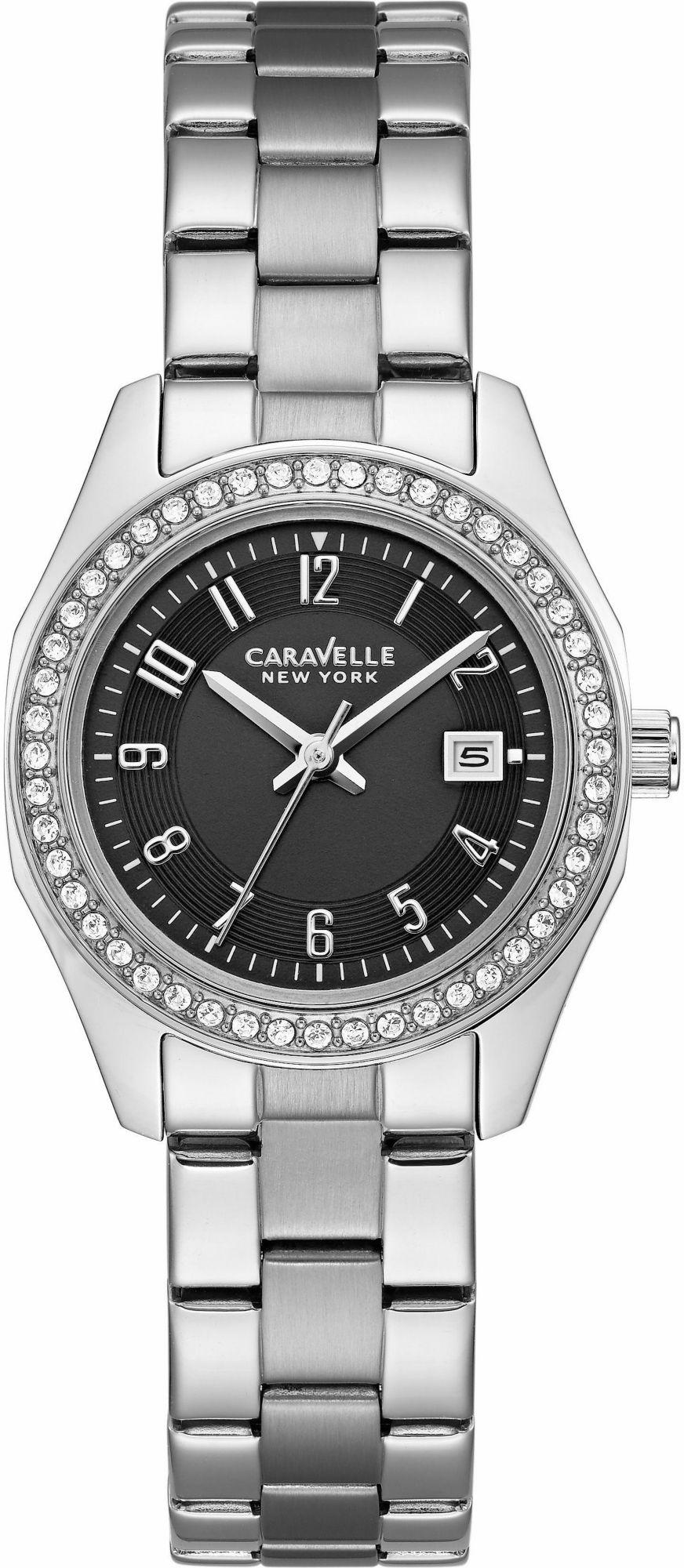 CARAVELLE NEW YORK Caravelle New York Quarzuhr »Black & White, 43M113«