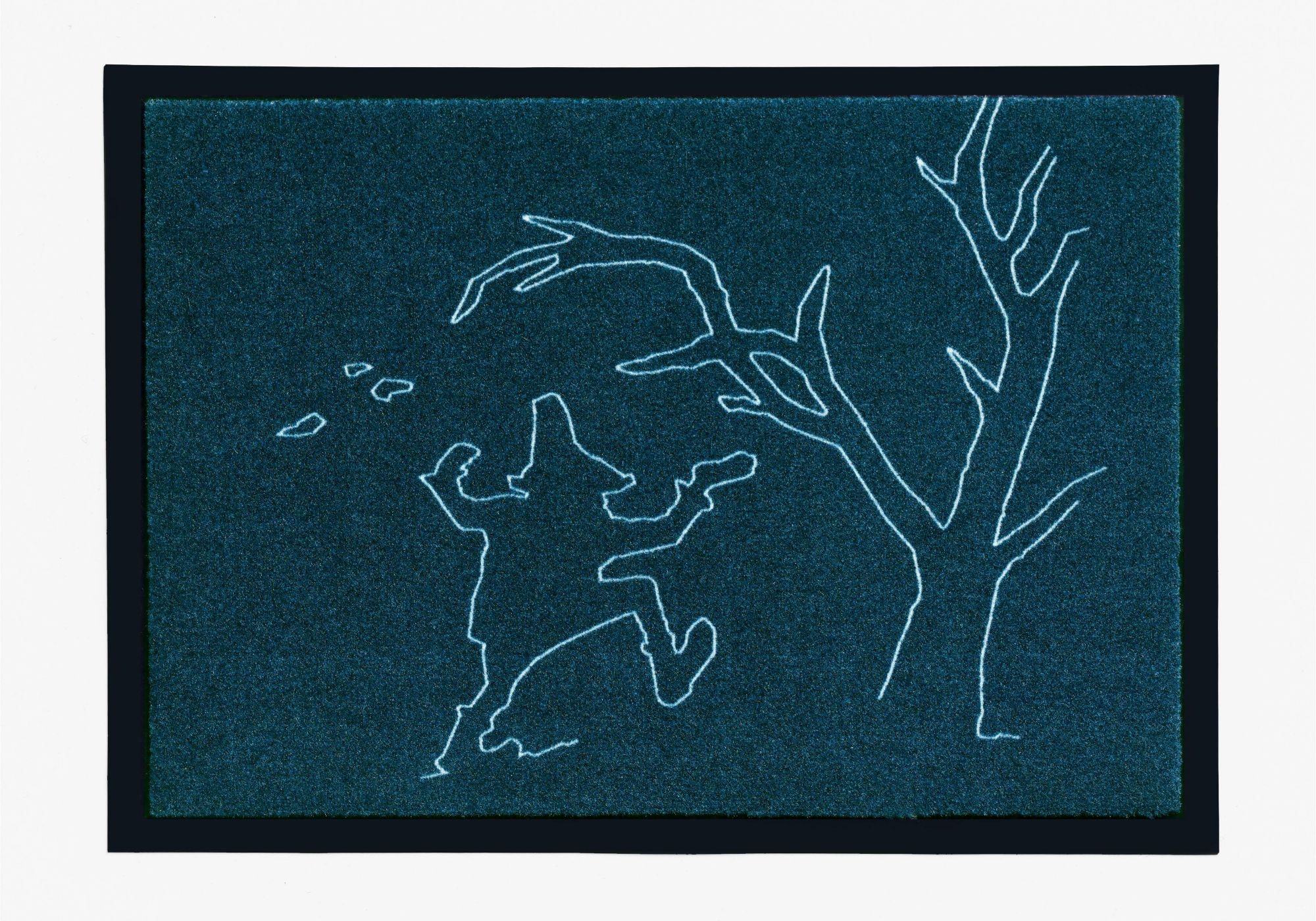 GRIMMLIIS Fußmatte, Grimmliis, »Märchen 4«, Höhe 2 mm,  rutschhemmend beschichtet