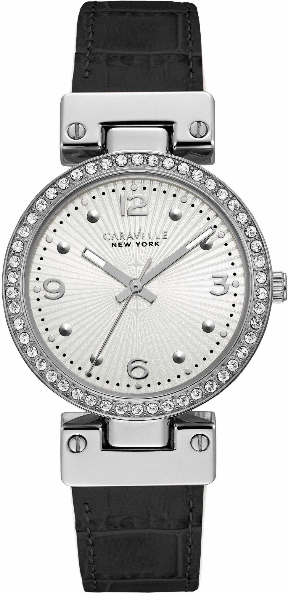CARAVELLE NEW YORK Caravelle New York Quarzuhr »Black & White, 43L201«