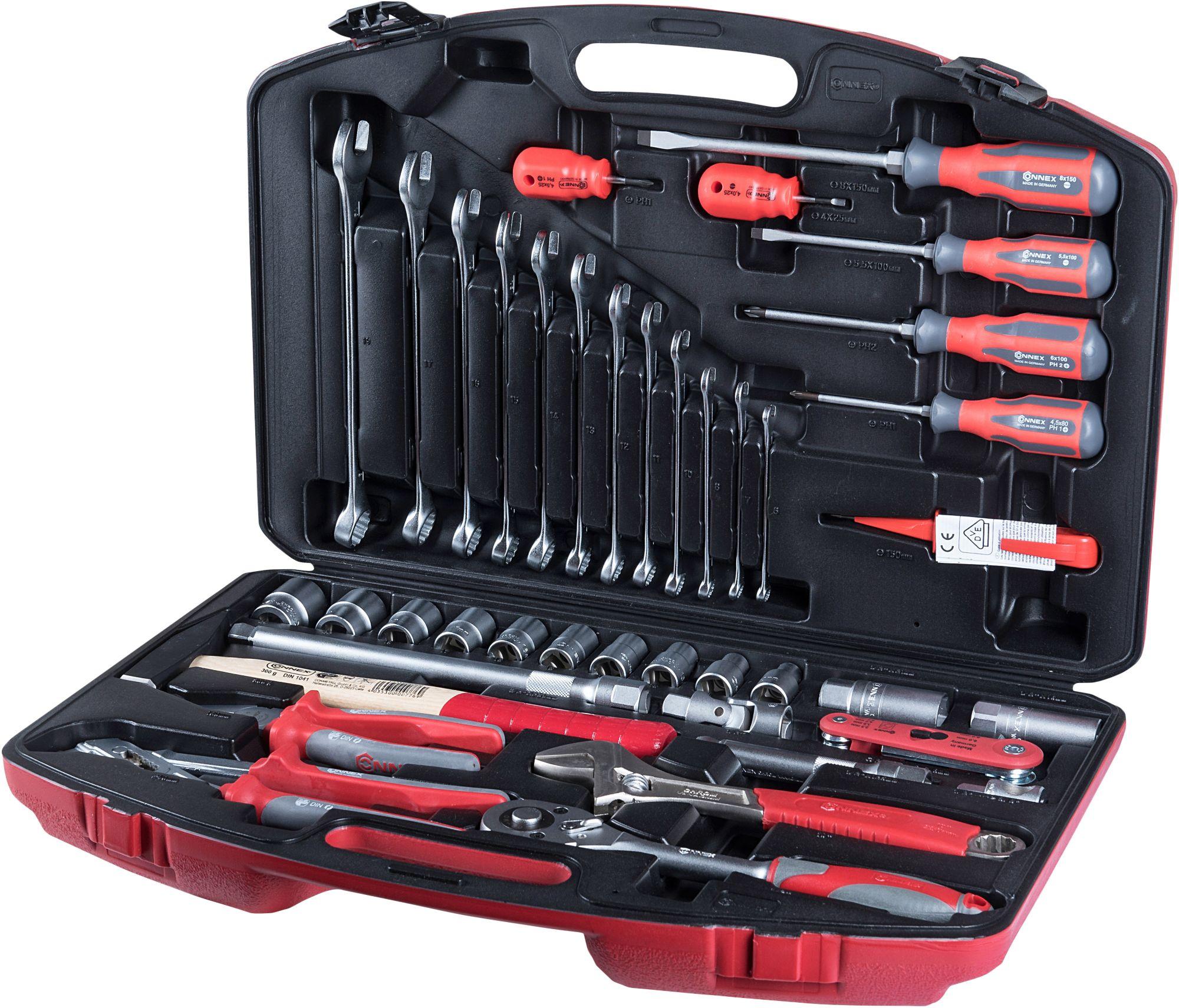 CONNEX  Werkzeugkoffer »PROFI«, (41-tlg.)
