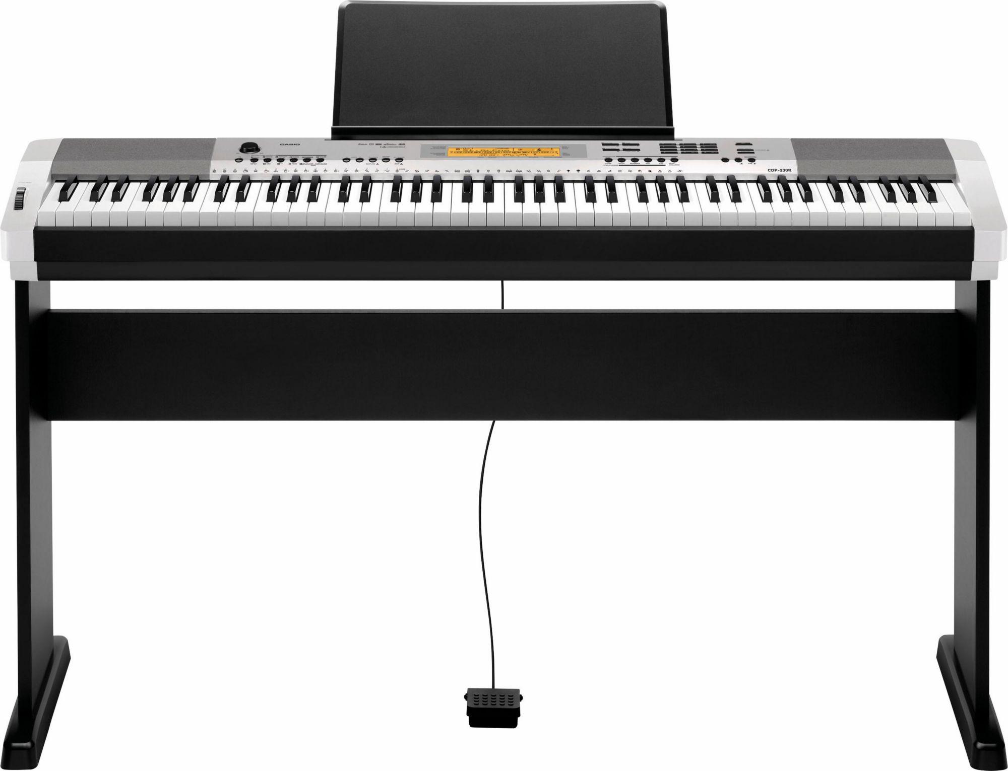 CASIO Casio® Compact Digital Piano, »CDP 230RSR Set«