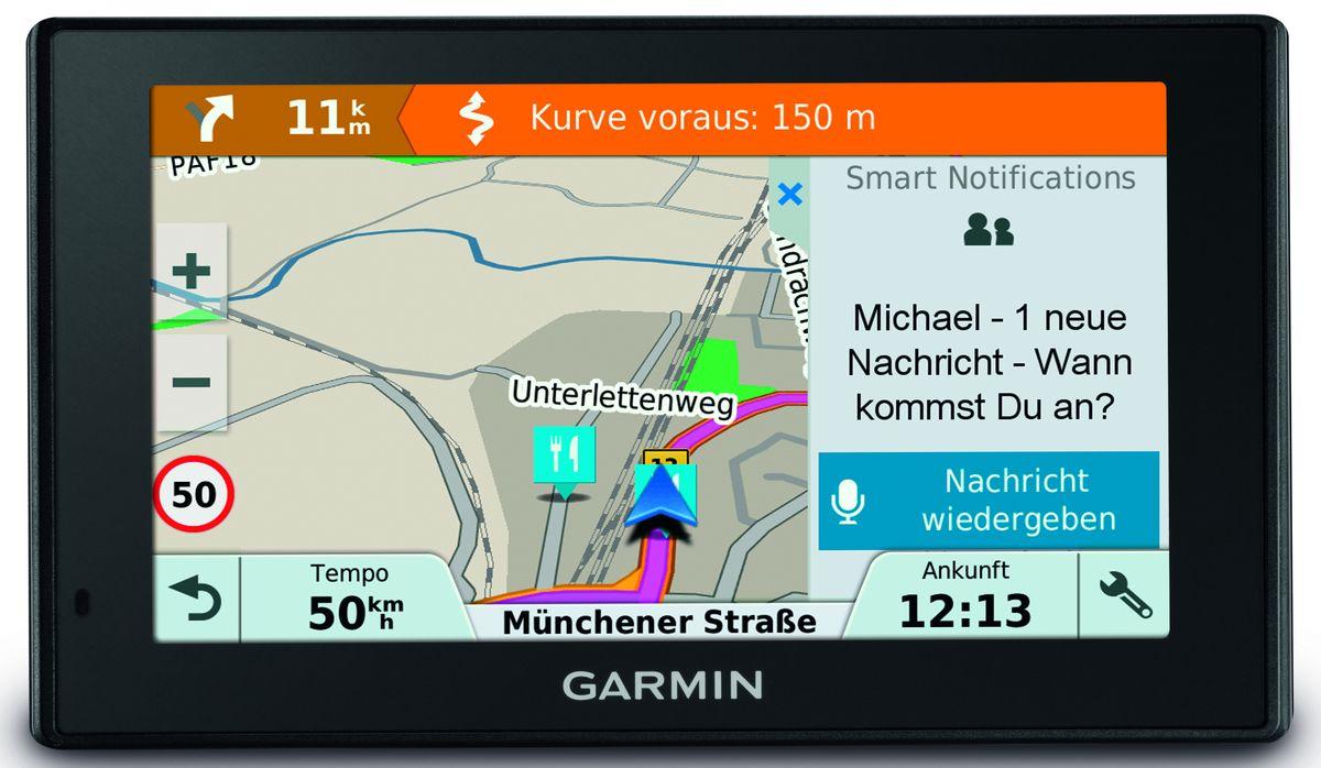 GARMIN DriveSmart 51 LMT-S EU, Navigationssystem