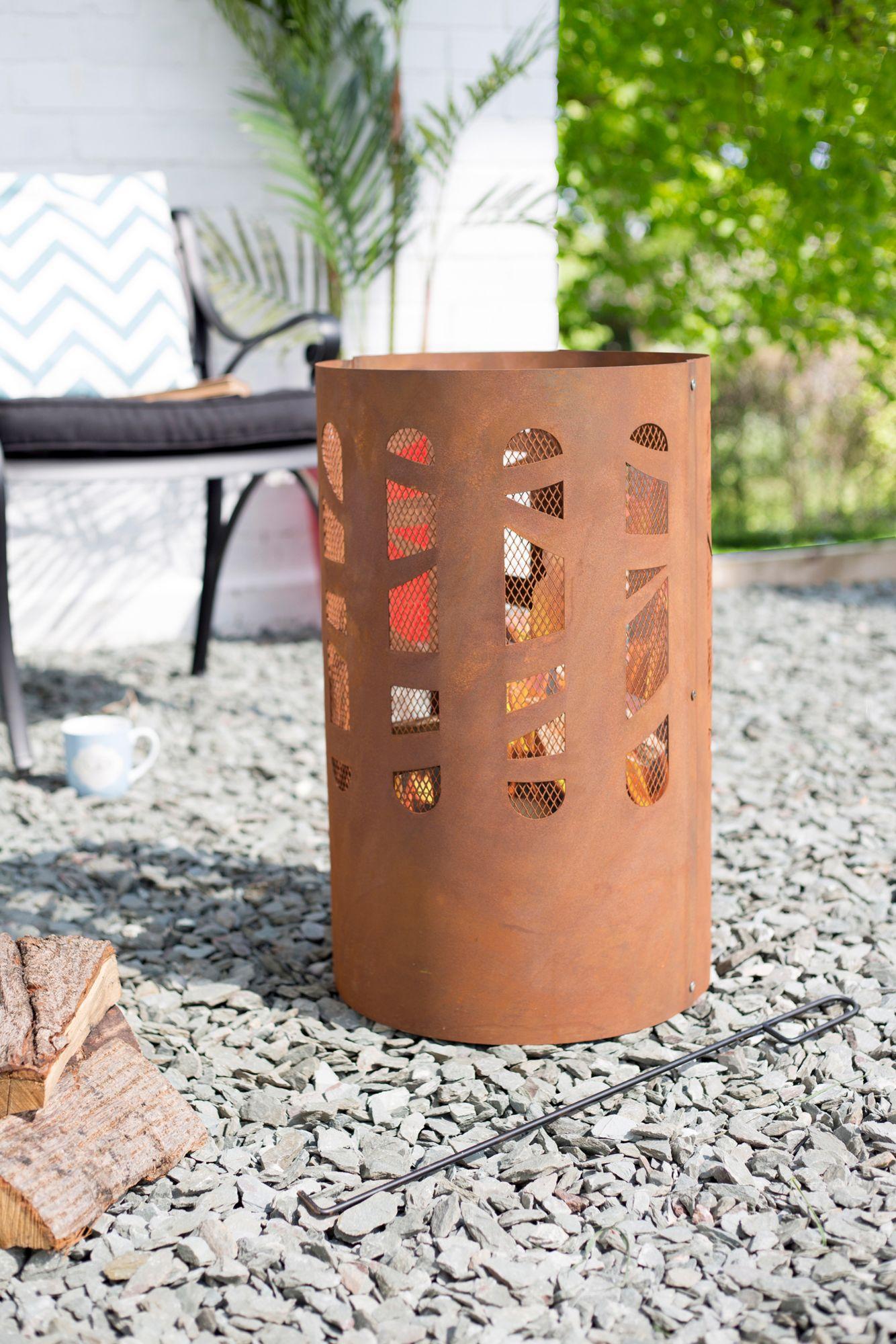 BUSCHBECK  Feuerkorb »Arobles«, Ø/H: 37/60 cm