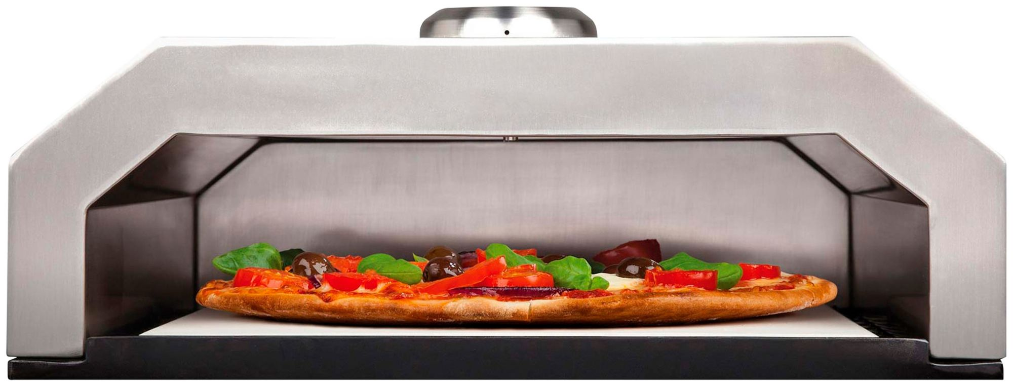 BUSCHBECK Buschbeck Firebox Pizzaofen mit Keramik-Steinplatte