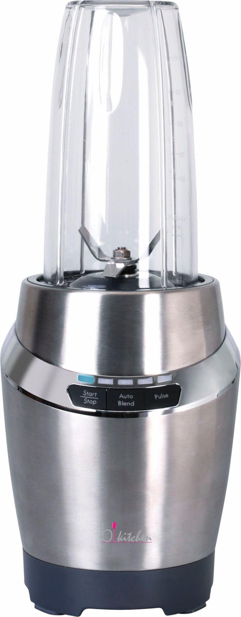 BKITCHEN bkitchen Hochleistungs-Smoothie-Mixer smooth220, 900 Watt