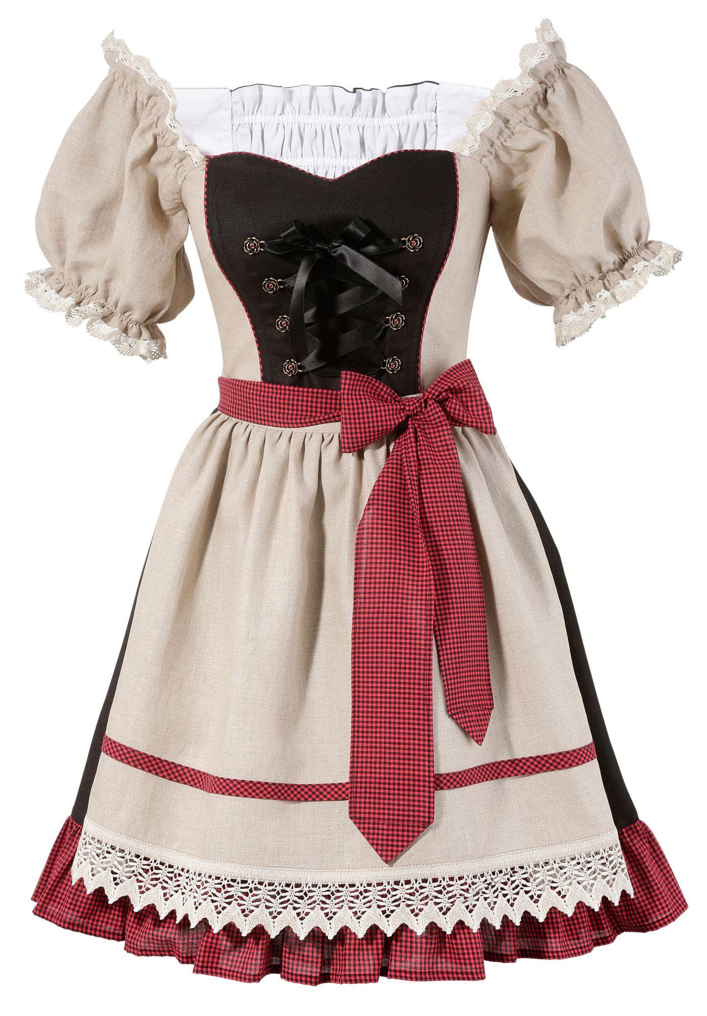 HANNAH Hannah Trachtenkleid Damen im Carmen-Style