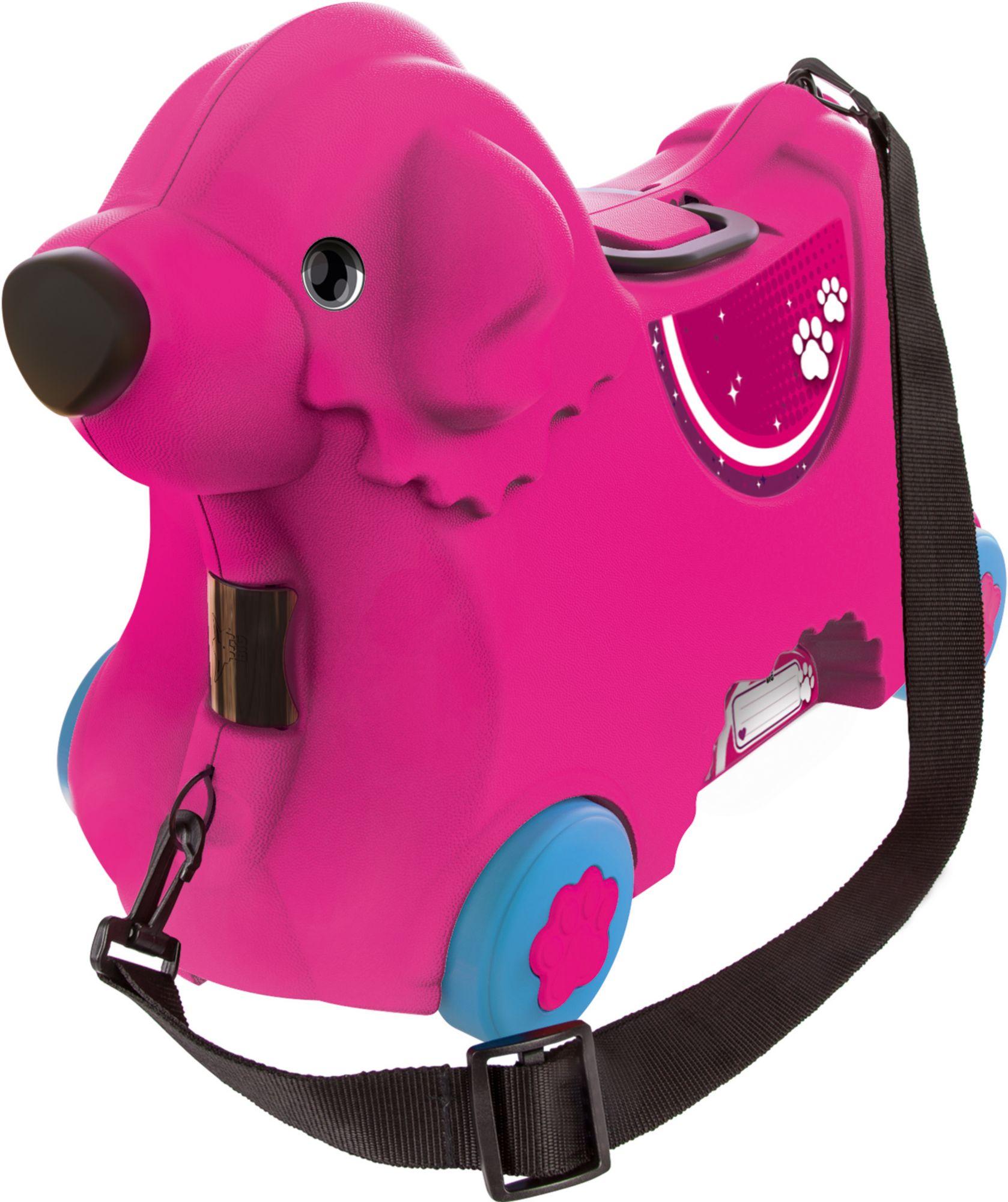 BIG  2in1 Kindertrolley und Rutscher, » Bobby Trolley pink«