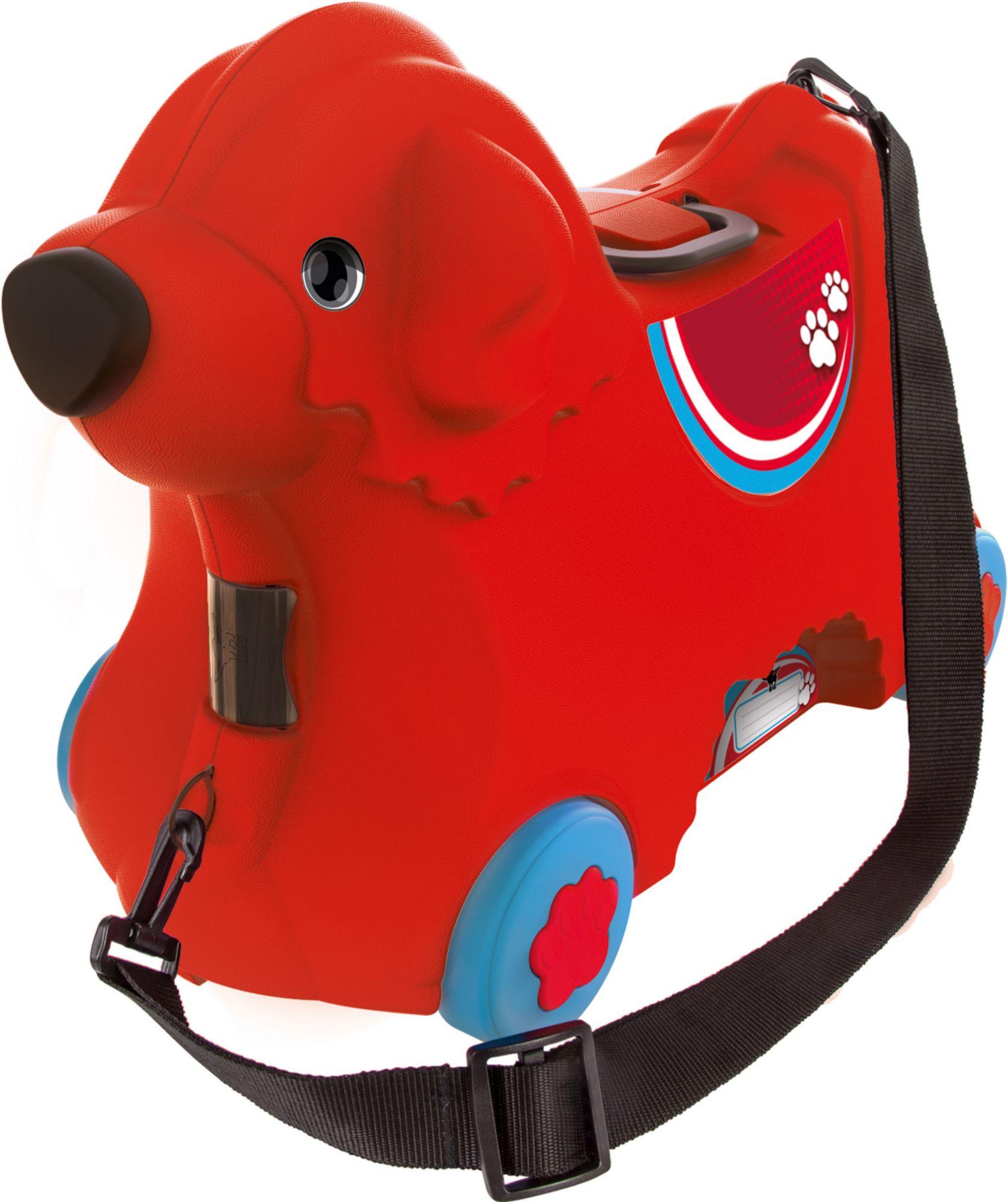 BIG  2in1 Kindertrolley und Rutscher, » Bobby Trolley rot«