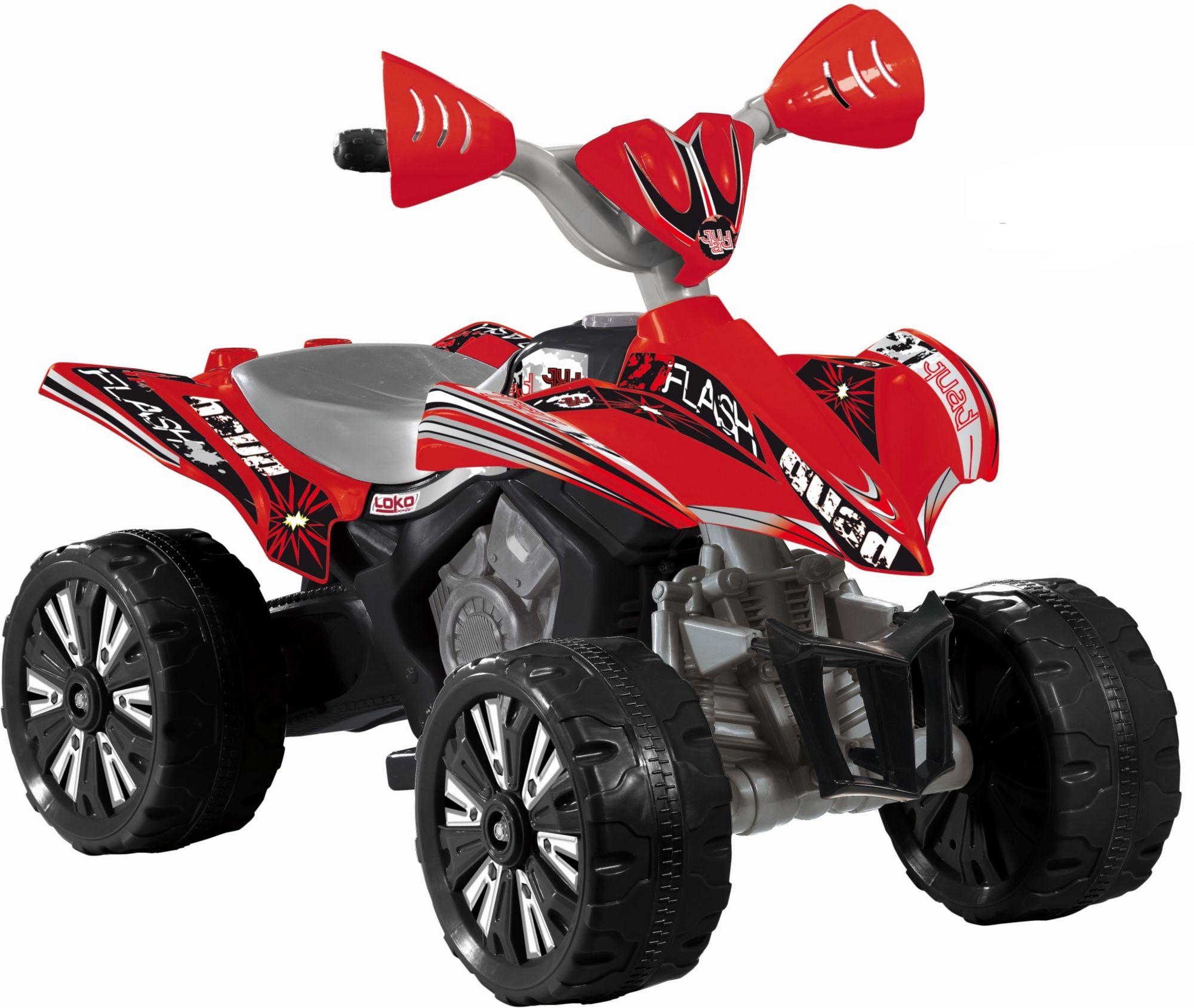 CARROMCO Carromco Elektrofahrzeug für Kinder, »Quad Maxi, rot«