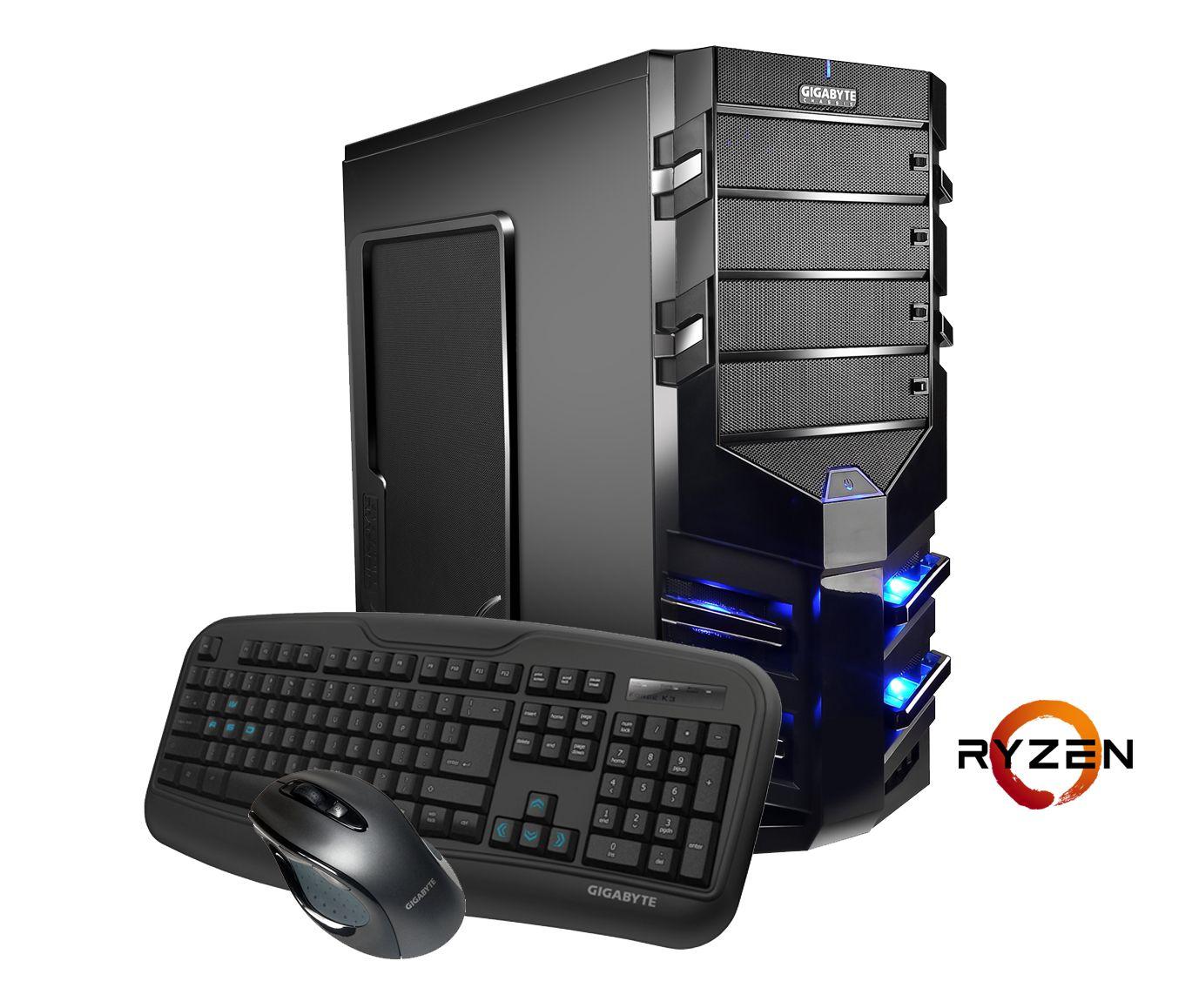 HYRICAN Hyrican AMD Ryzen? 1700X, 16GB, SSD + HDD, GeForce® GTX 1070 »Alpha Gaming 5491«