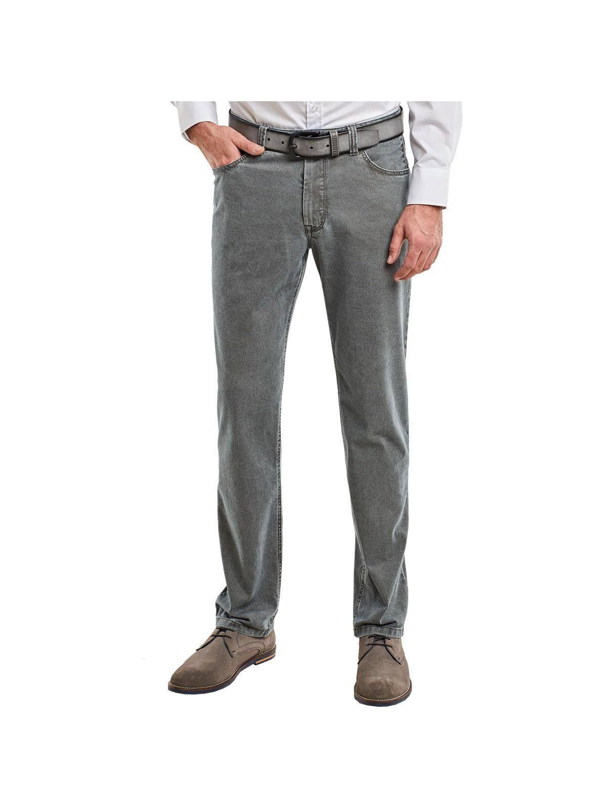 ENGBERS engbers Baumwollhose mit moderner Jeansfärbung