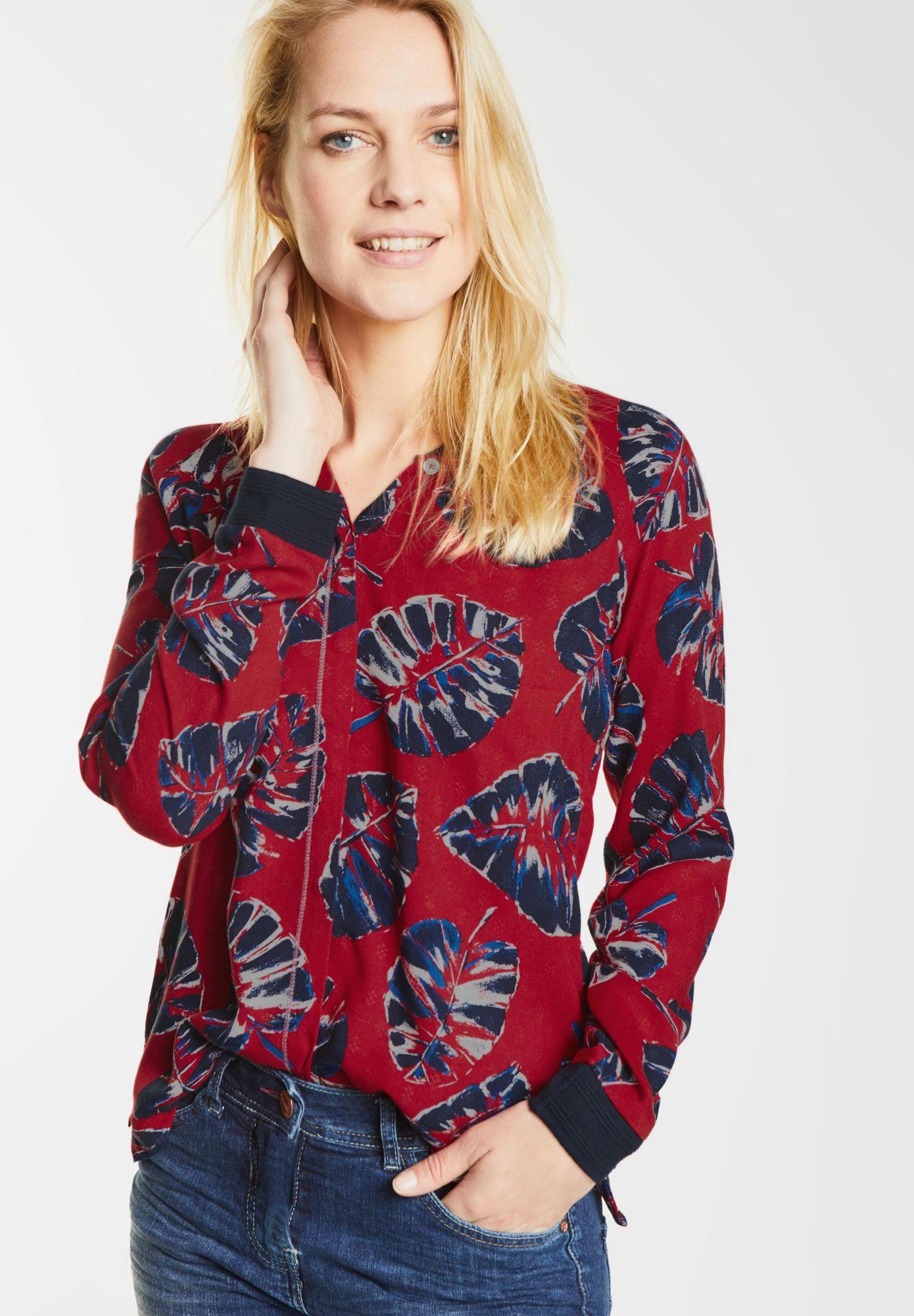 CECIL  Blouson Style Bluse