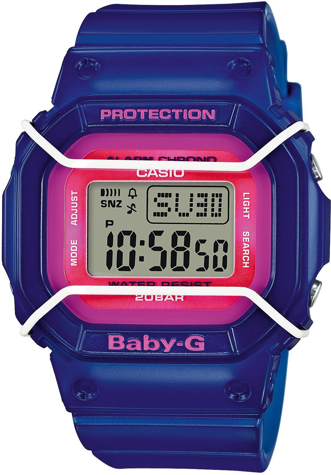 CASIO BABY G Baby-G Armbanduhr Blau Casio pink