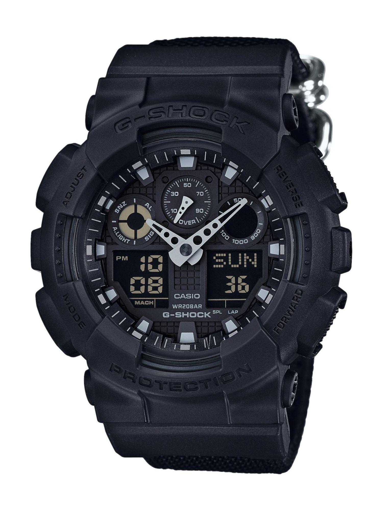 CASIO G SHOCK Casio G-Shock Chronograph »GA-100BBN-1AER«