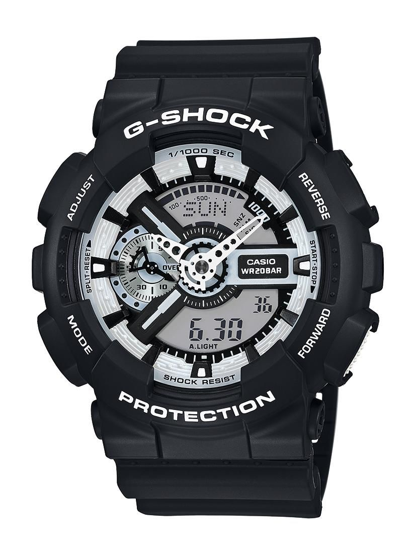 CASIO G SHOCK Casio G-Shock Chronograph »GA-110BW-1AER«