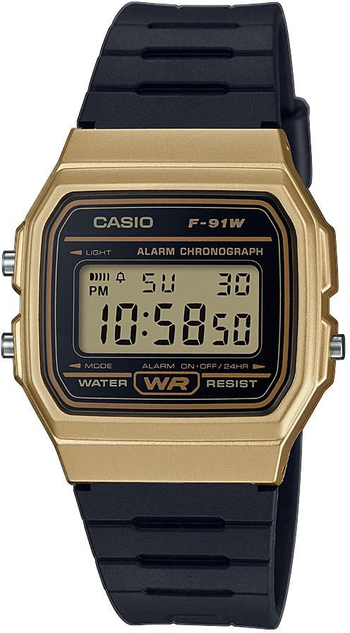 CASIO COLLECTION Casio Collection Chronograph »F-91WM-9AEF«