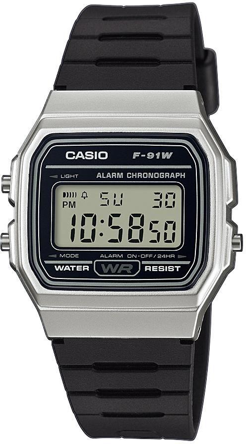 CASIO COLLECTION Casio Collection Chronograph »F-91WM-7AEF«