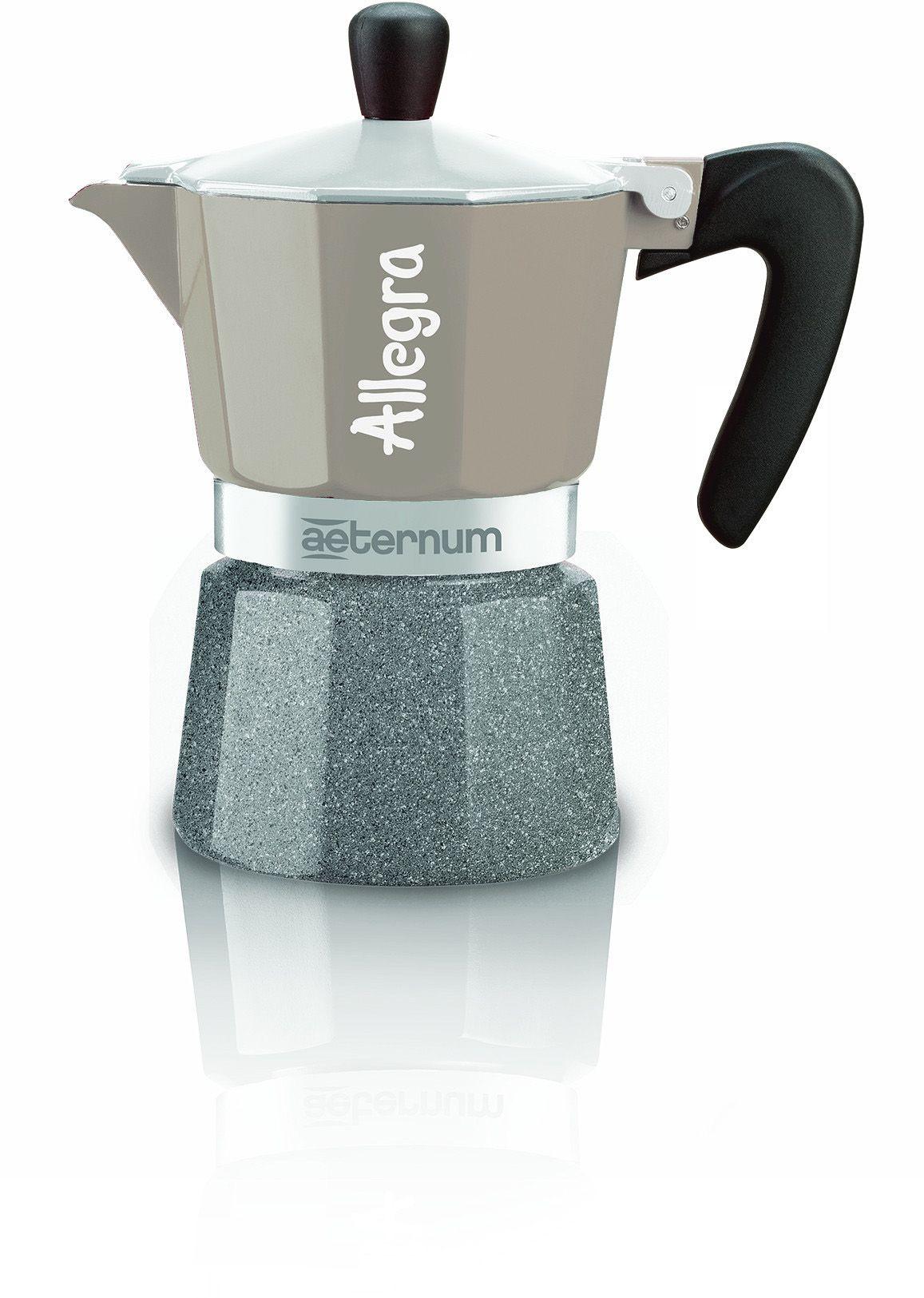 AETERNUM BY BIALETTI Aeternum by Bialetti Espressokocher, Aluminium, 3 Tassen, »ALLEGRA«
