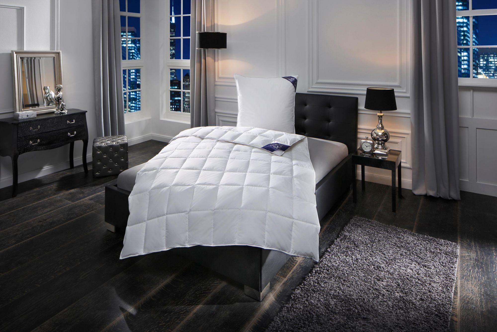 EXCELLENT Daunenbettdecke Excellent Premium, Leicht, 100% Gänsedaunen