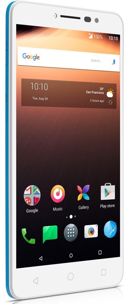 ALCATEL Alcatel A3 XL 9008D 8GB Android weiß / blau