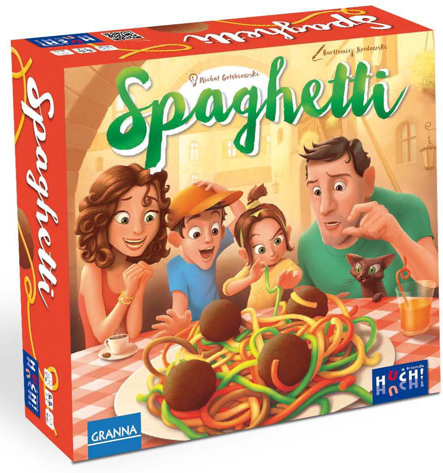 HUCH FRIENDS Huch! & friends Gesellschaftsspiel, »Spaghetti«