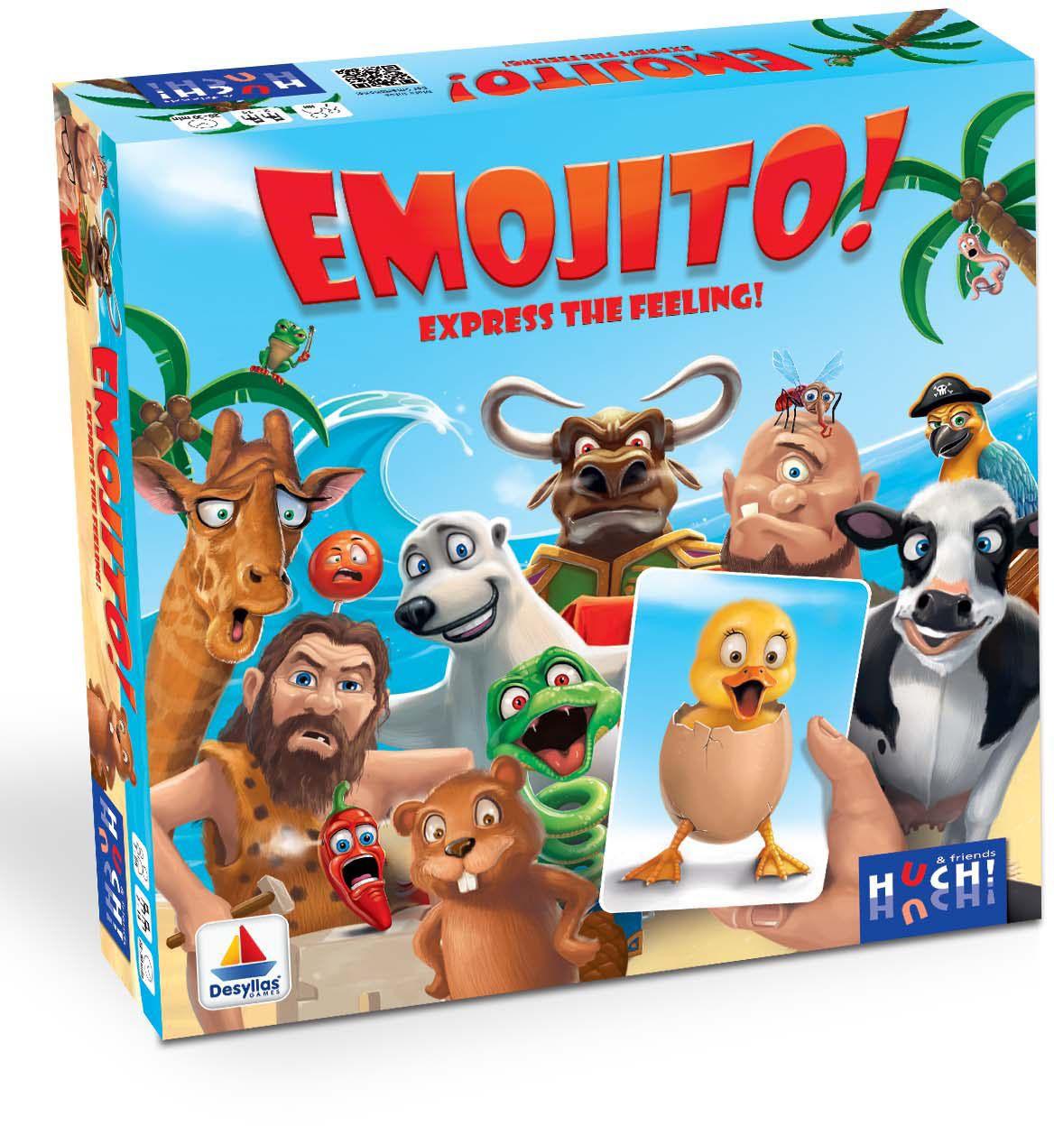 HUCH FRIENDS Huch! & friends Brettspiel, »Emojito«