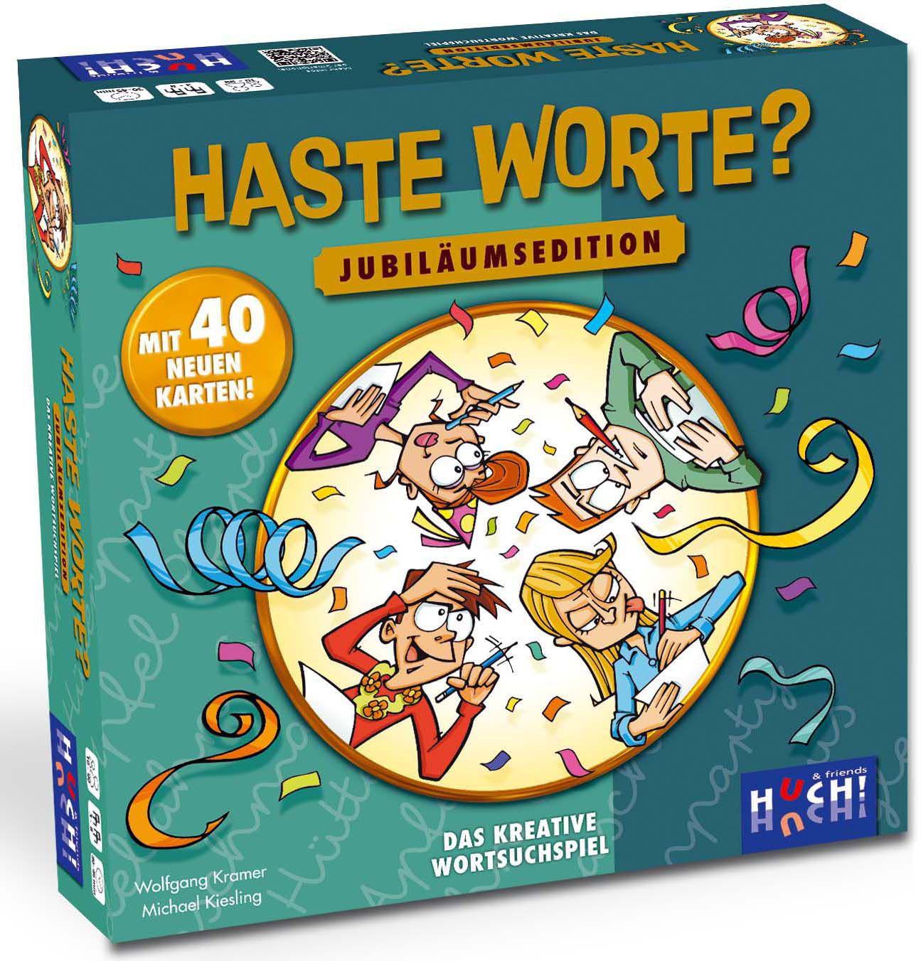 HUCH FRIENDS Huch! & friends Brettspiel, »Haste Worte Jubiläumsedition«