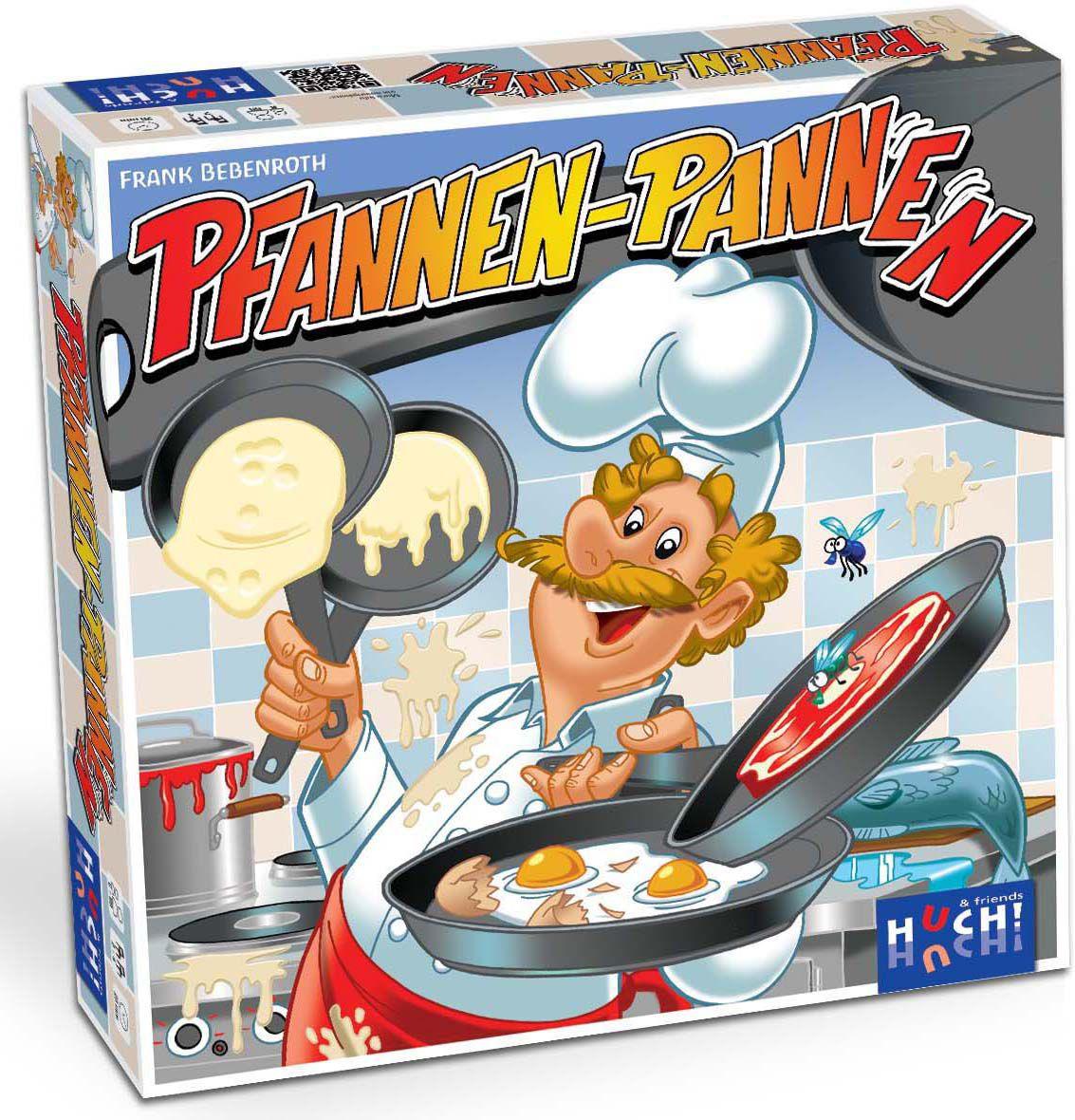HUCH FRIENDS Huch! & friends Brettspiel , »Pfannen Pannen«