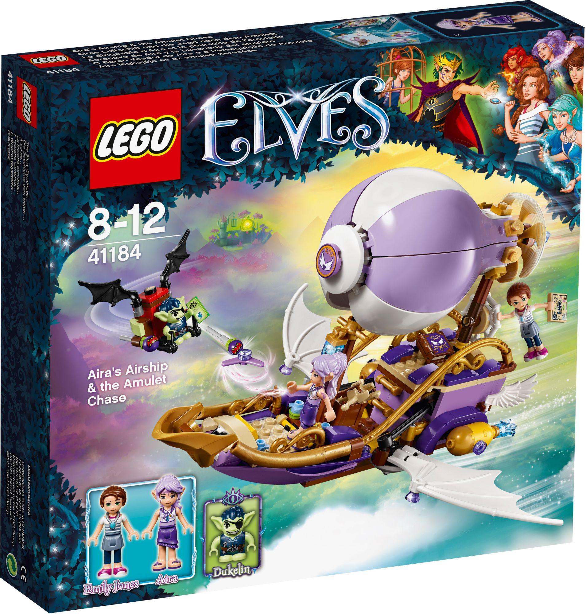 LEGO® 41184 Elves Airas Luftschiff und die Jagd nach dem Amulett, Konstruktionsspielzeug