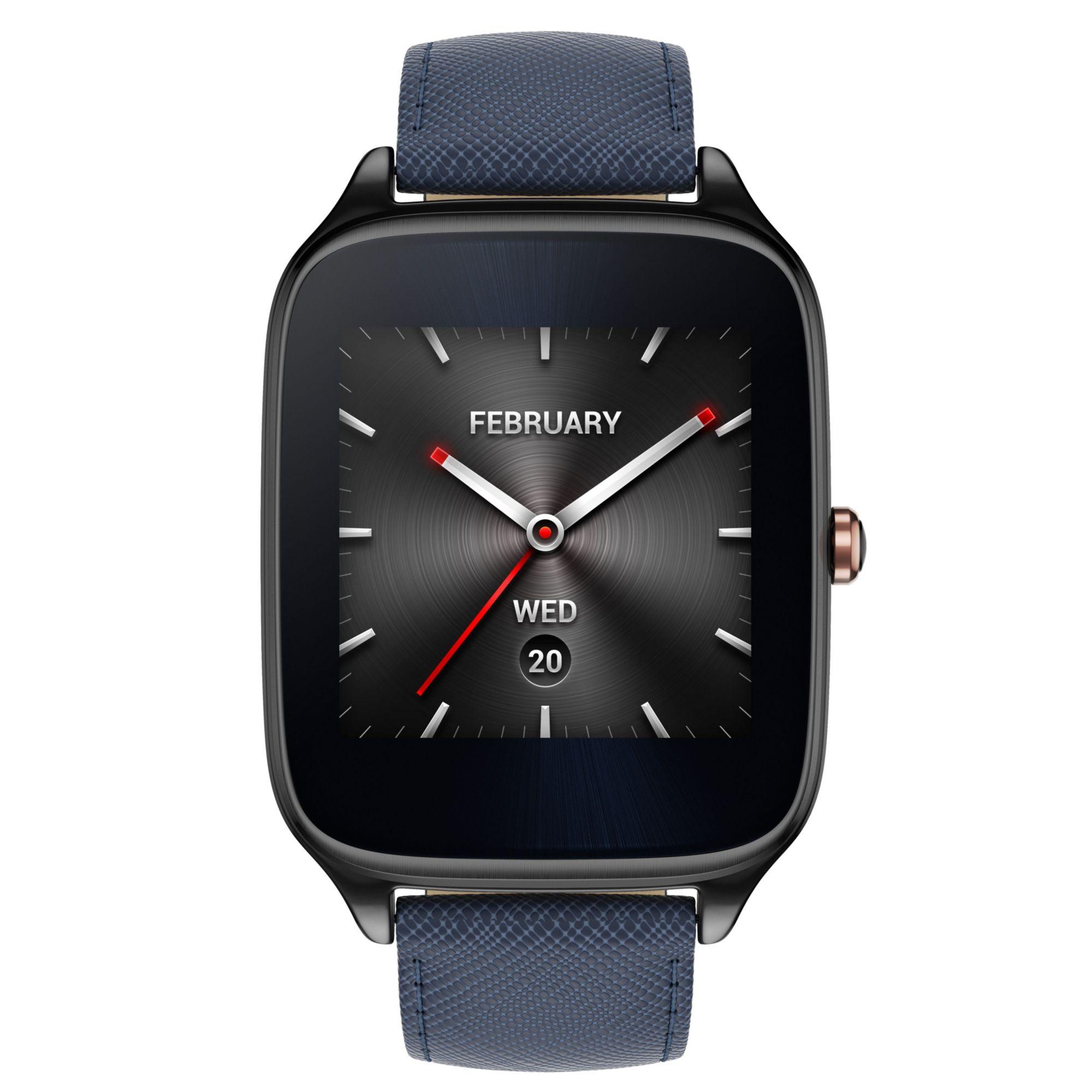 ASUS  Zenwatch 2 WI501Q(BQC)-2LBLU0001 »512 MB, 4 GB, Soft-Armband«