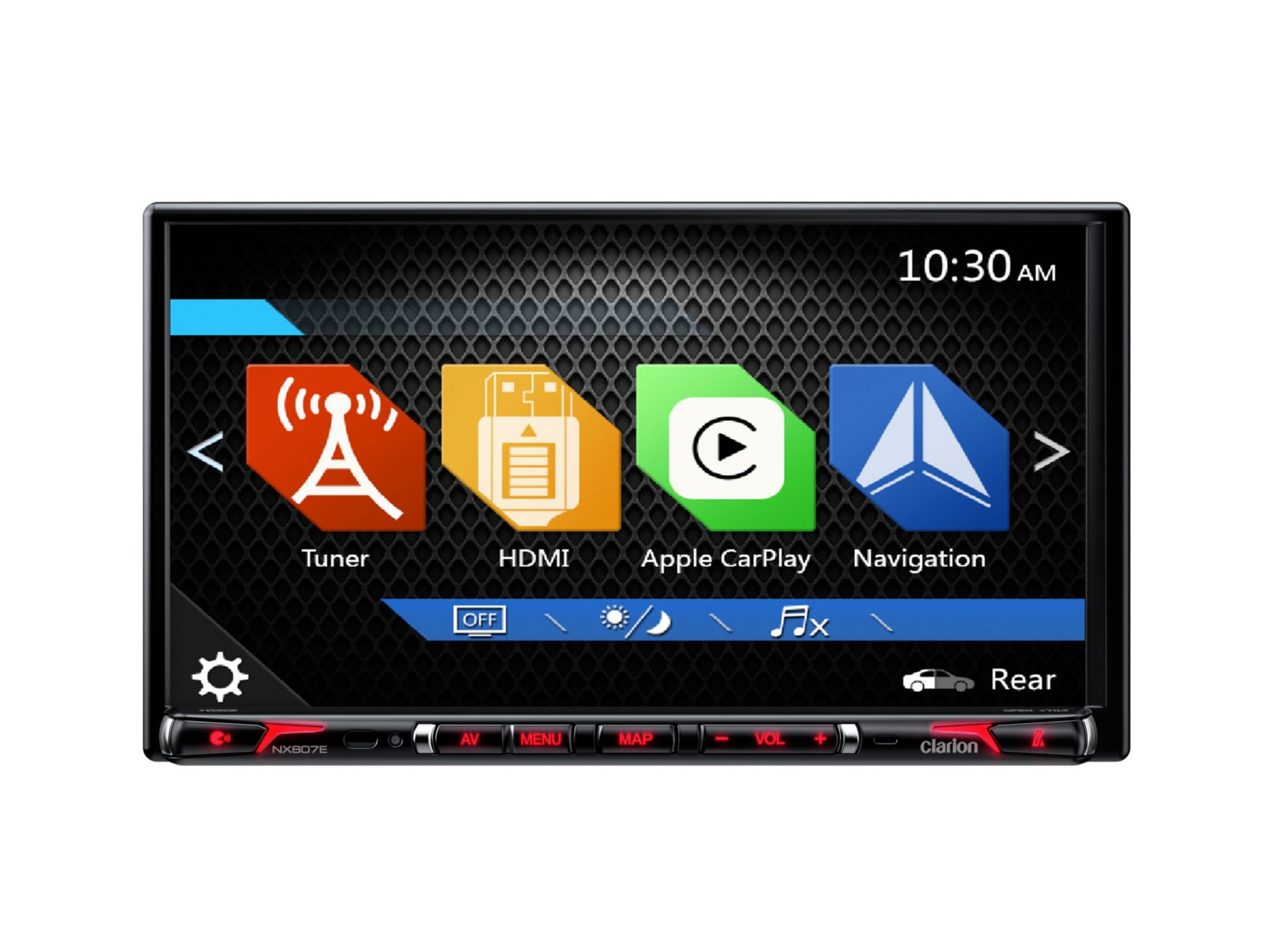 CLARION Clarion 2-DIN High-End Multimedia-Station & Navigation »NX807E«