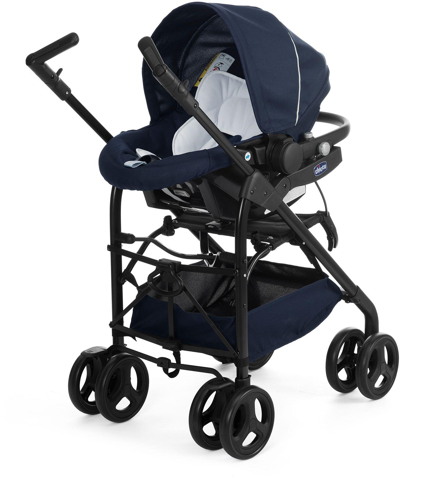 CHICCO Chicco® Kombi Kinderwagen, »Trio-System Sprint, blue passion«
