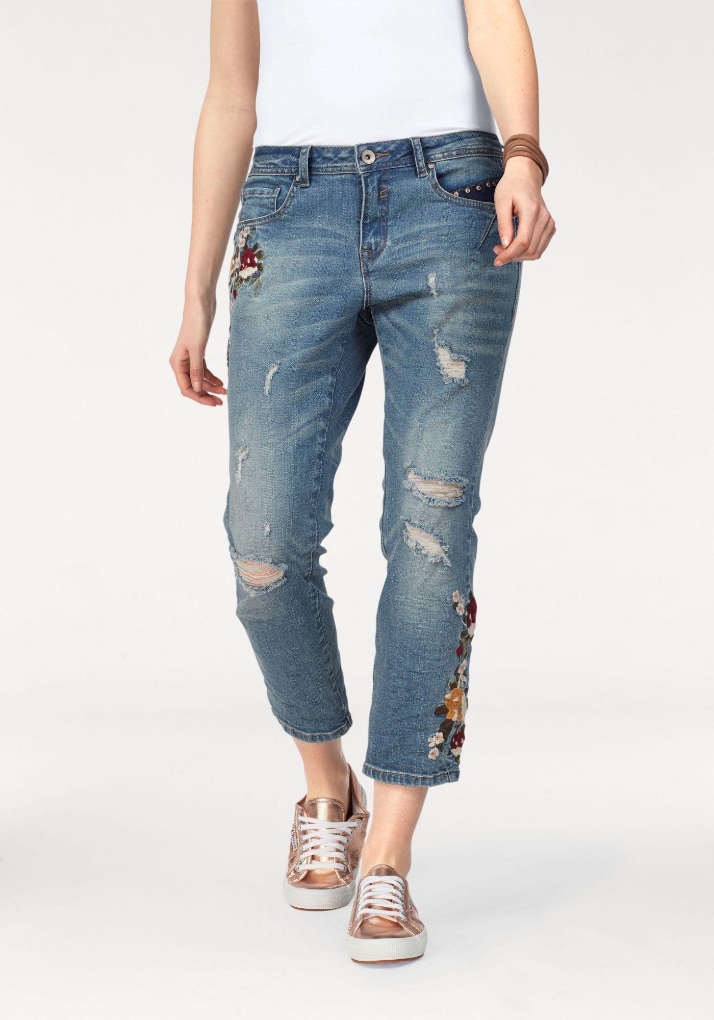 CREAM Cream Boyfriend-Jeans »FLOWER«