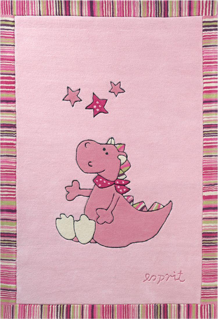 Kinder-Teppich, Esprit, »Sweet Dragon«, Höhe 10 mm, handgetuftet