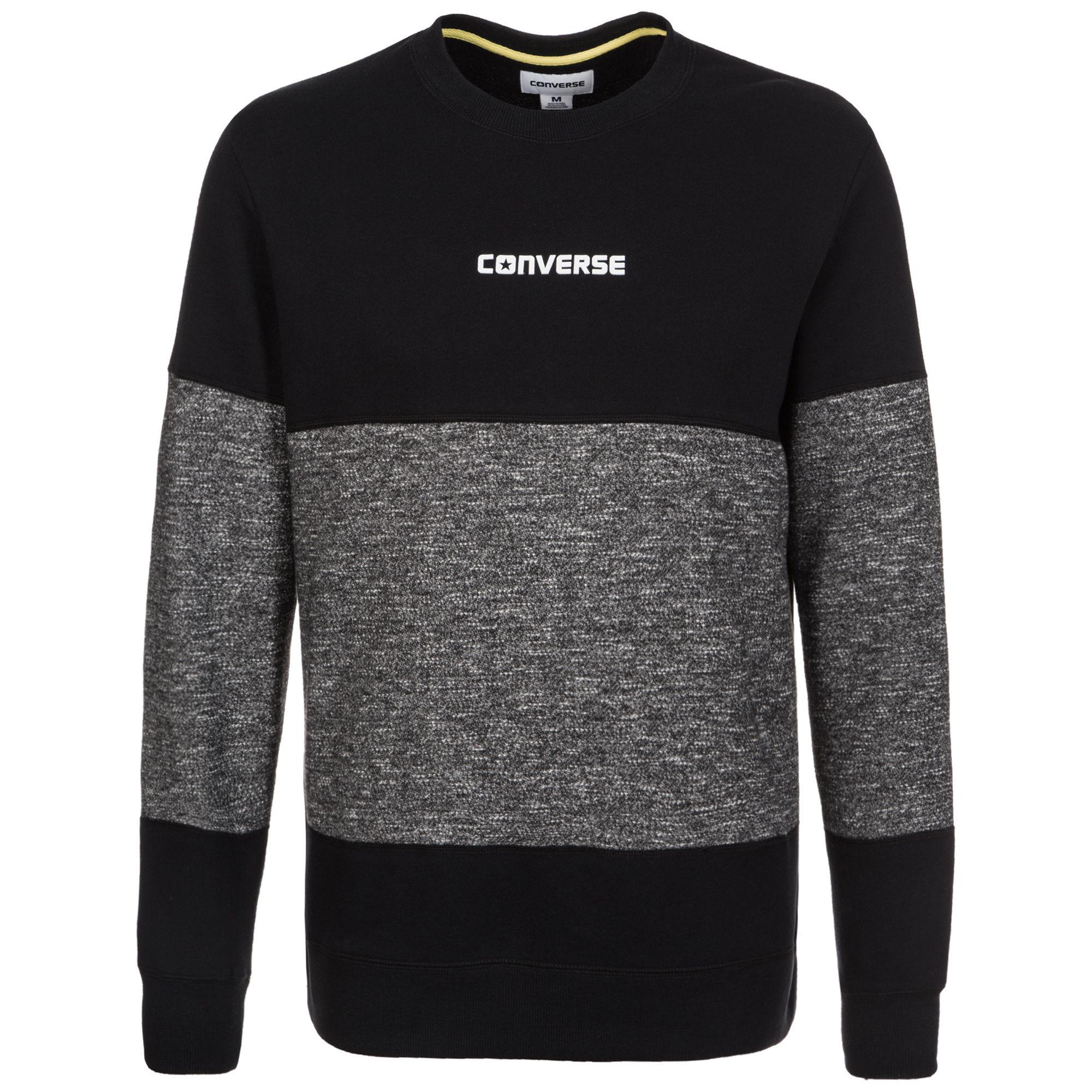 CONVERSE Converse Blocked Marl Sweatshirt Herren