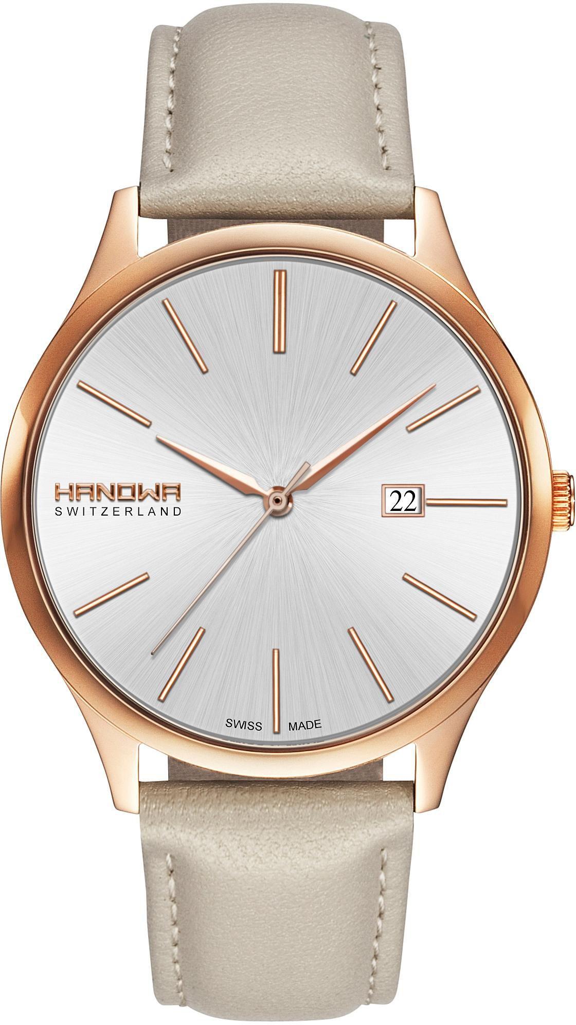 HANOWA Hanowa Schweizer Uhr »PURE, 16-4060.09.001.14«