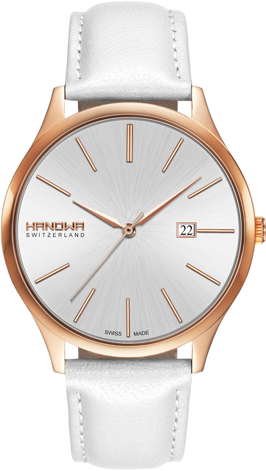 HANOWA Hanowa Schweizer Uhr »PURE, 16-4060.09.001«