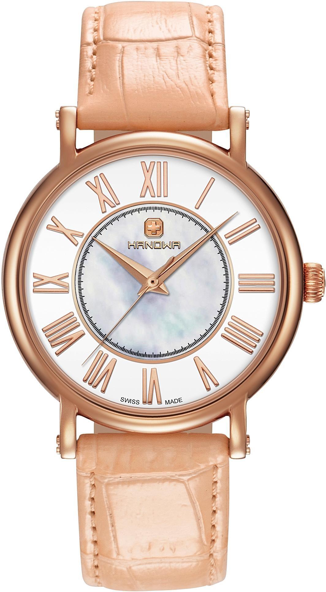 HANOWA Hanowa Schweizer Uhr »DELIA, 16-6065.09.001«