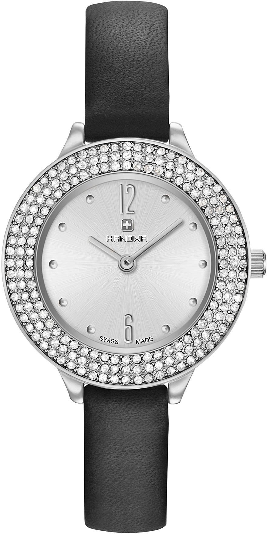 HANOWA Hanowa Schweizer Uhr »ALESSIA SET, 16-8008.04.001SET« (Set, 5 tlg.)