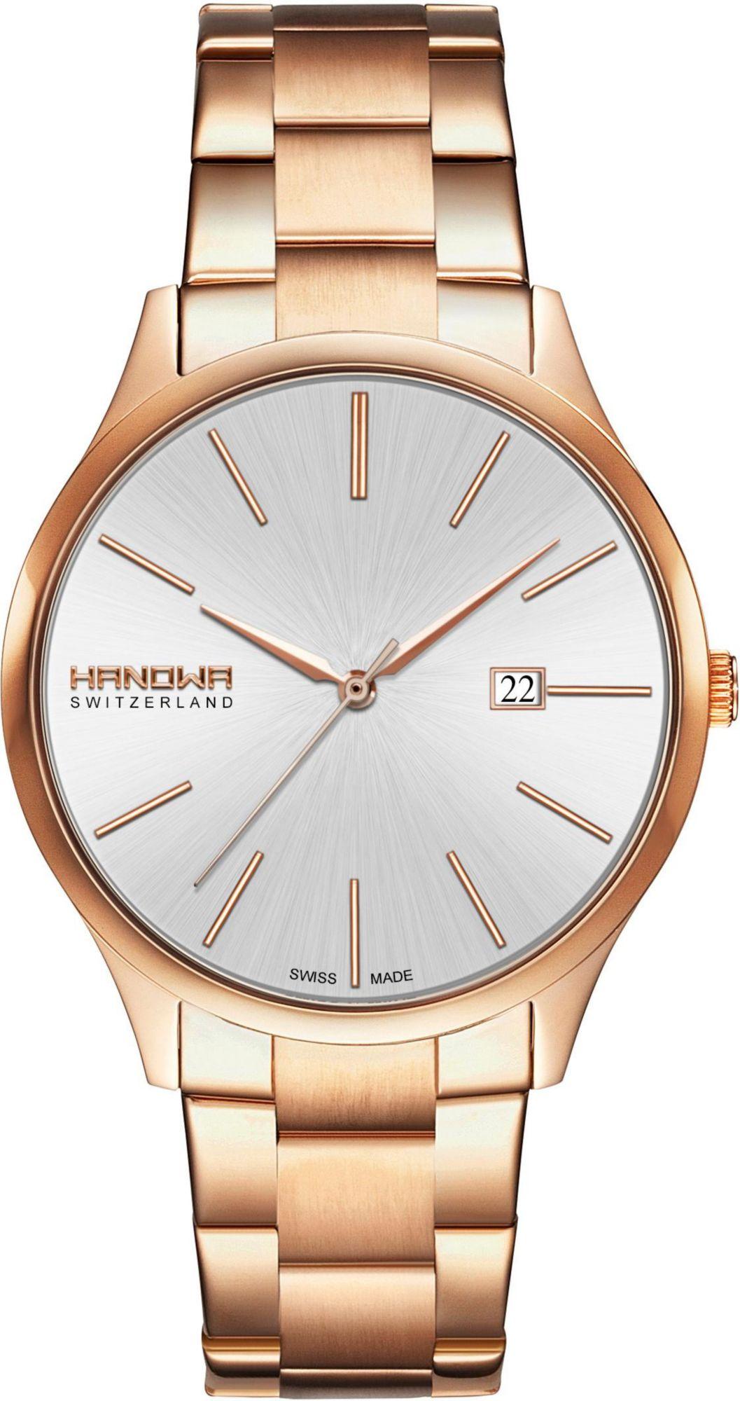 HANOWA Hanowa Schweizer Uhr »PURE, 16-5060.09.001«